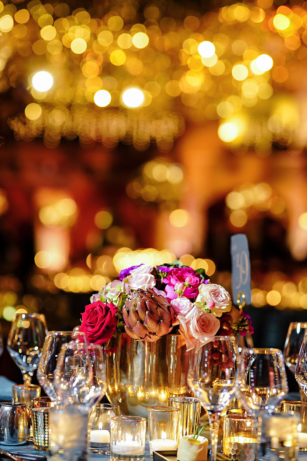 Lucia Matt Indiana Roof Ballroom Wedding Reception 065