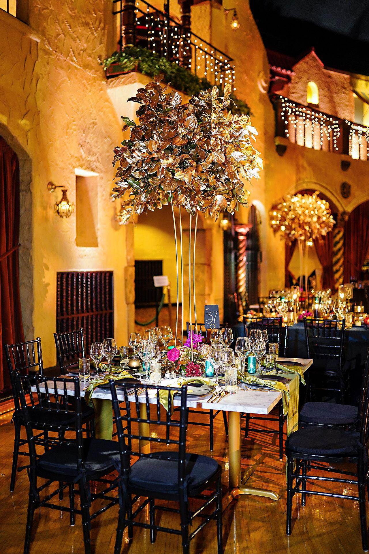 Lucia Matt Indiana Roof Ballroom Wedding Reception 066