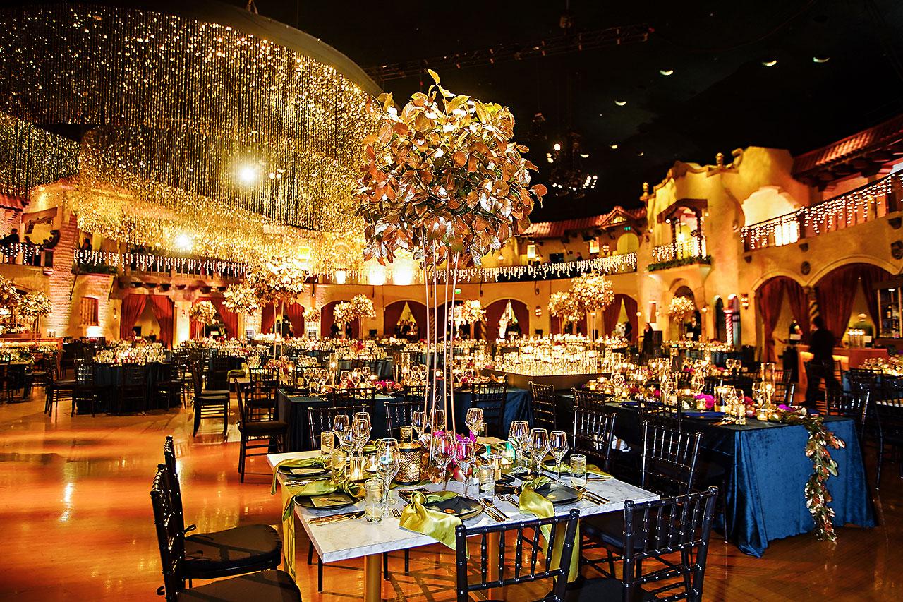 Lucia Matt Indiana Roof Ballroom Wedding Reception 062