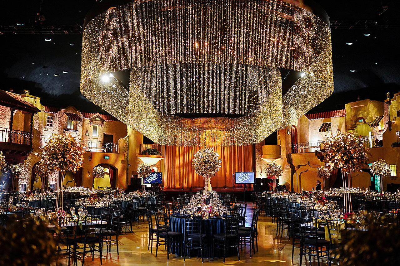 Lucia Matt Indiana Roof Ballroom Wedding Reception 058