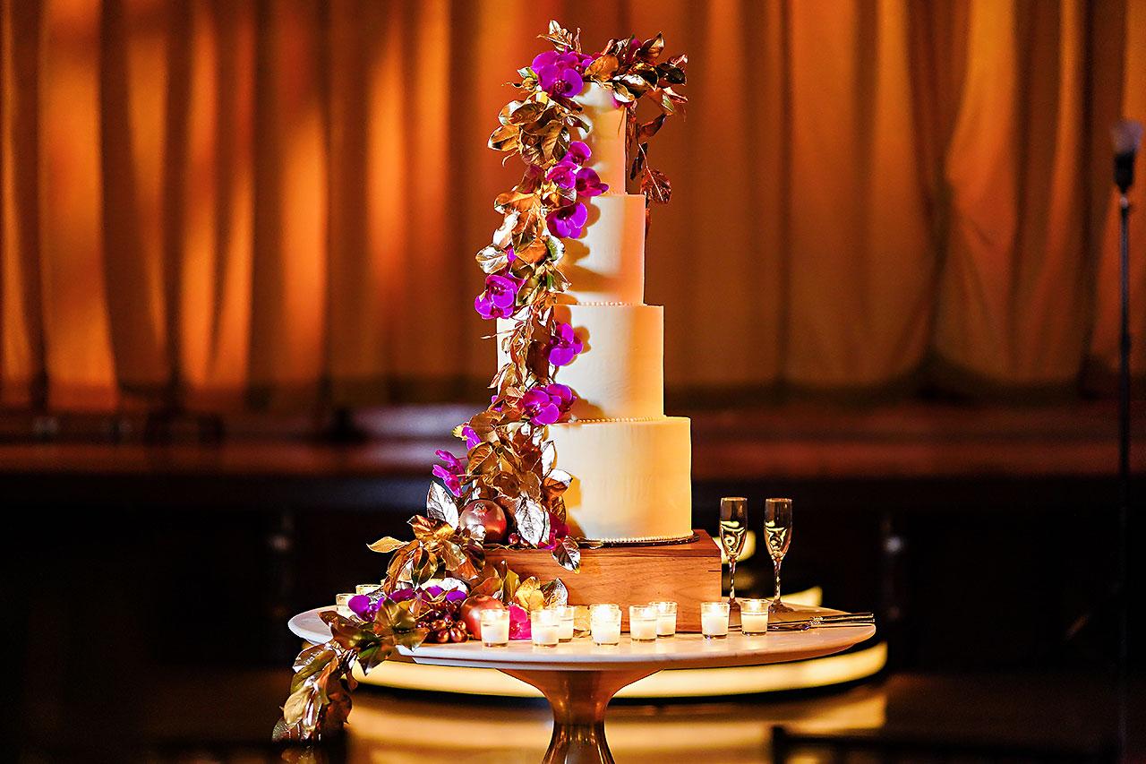 Lucia Matt Indiana Roof Ballroom Wedding Reception 059