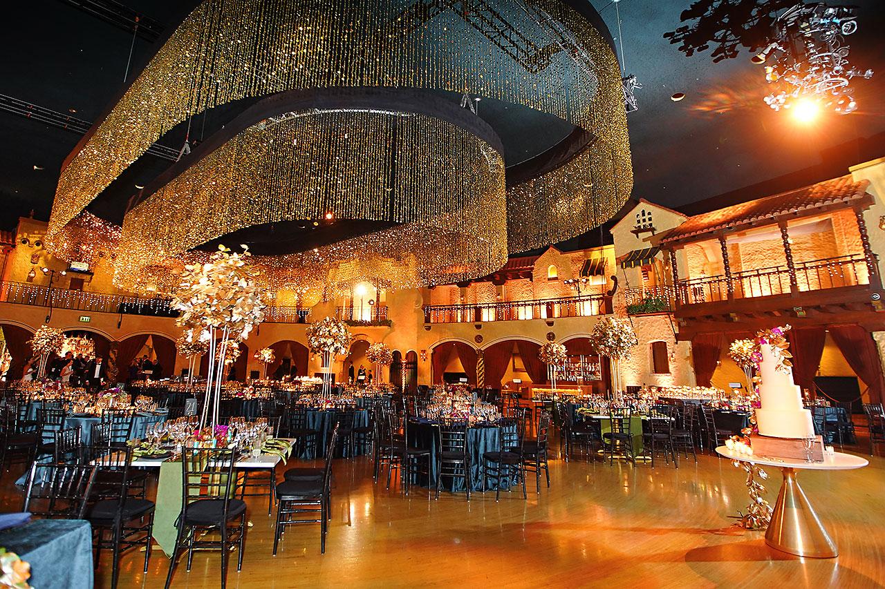 Lucia Matt Indiana Roof Ballroom Wedding Reception 055