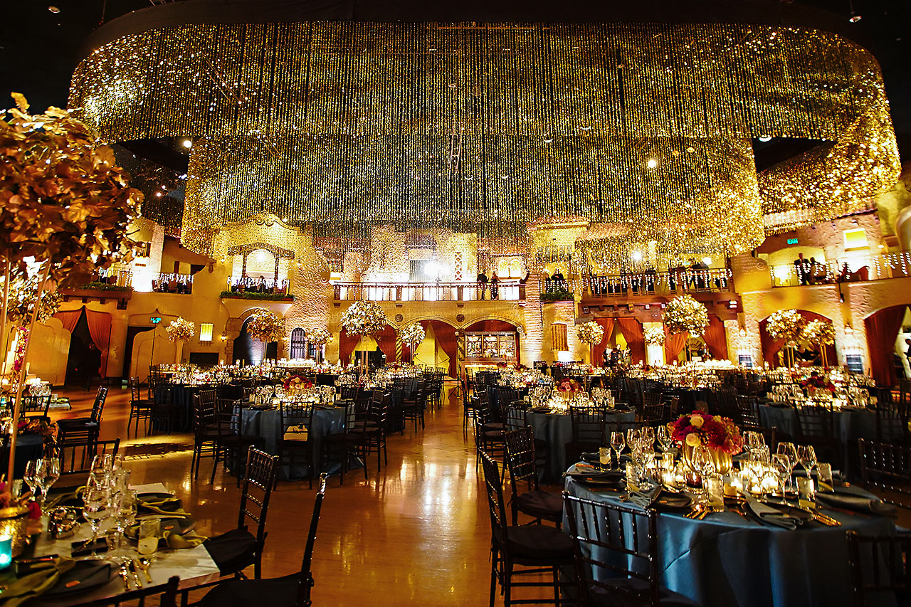 Lucia Matt Indiana Roof Ballroom Wedding Reception 056