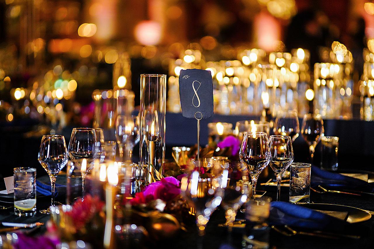 Lucia Matt Indiana Roof Ballroom Wedding Reception 049