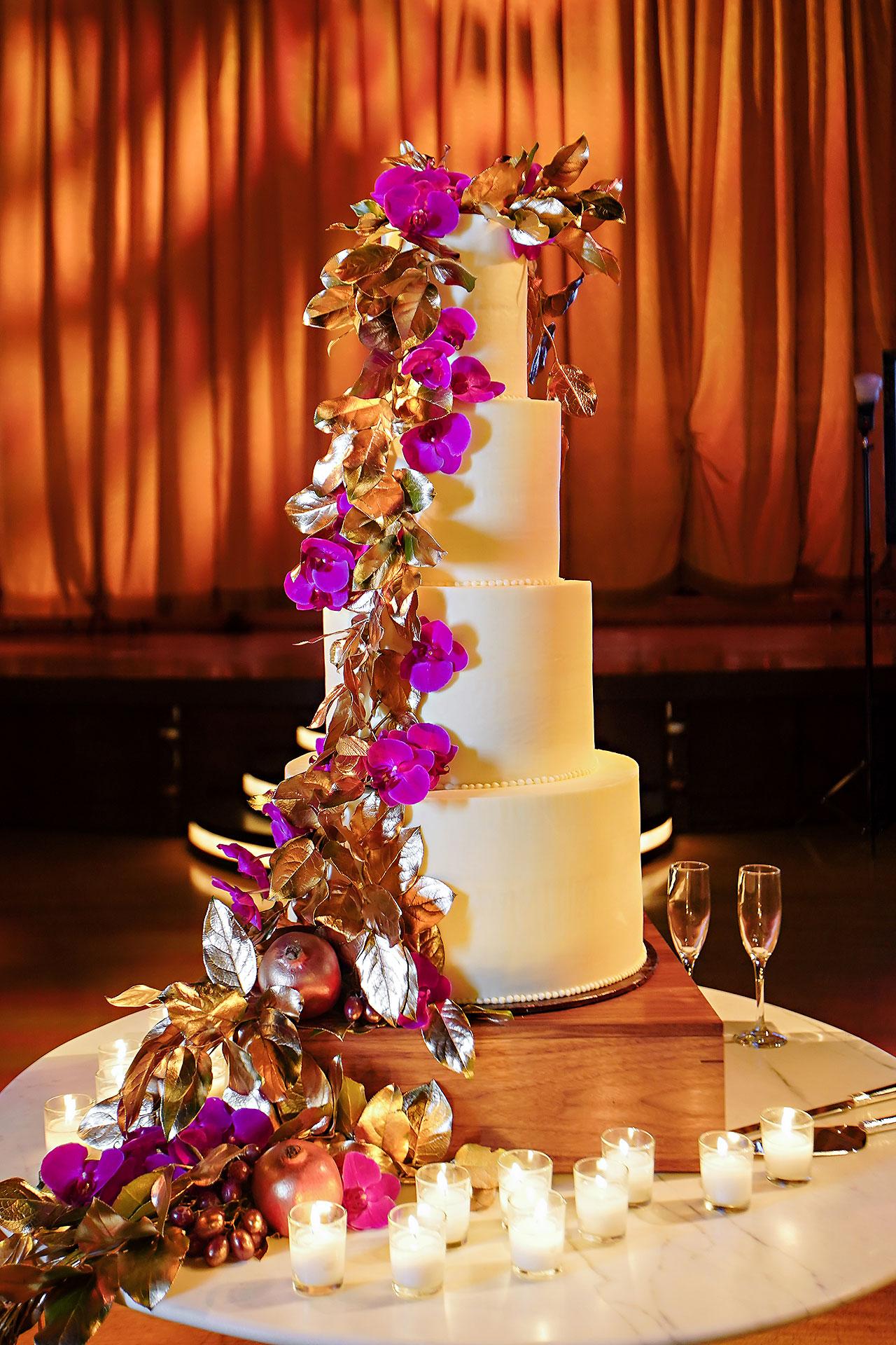 Lucia Matt Indiana Roof Ballroom Wedding Reception 046