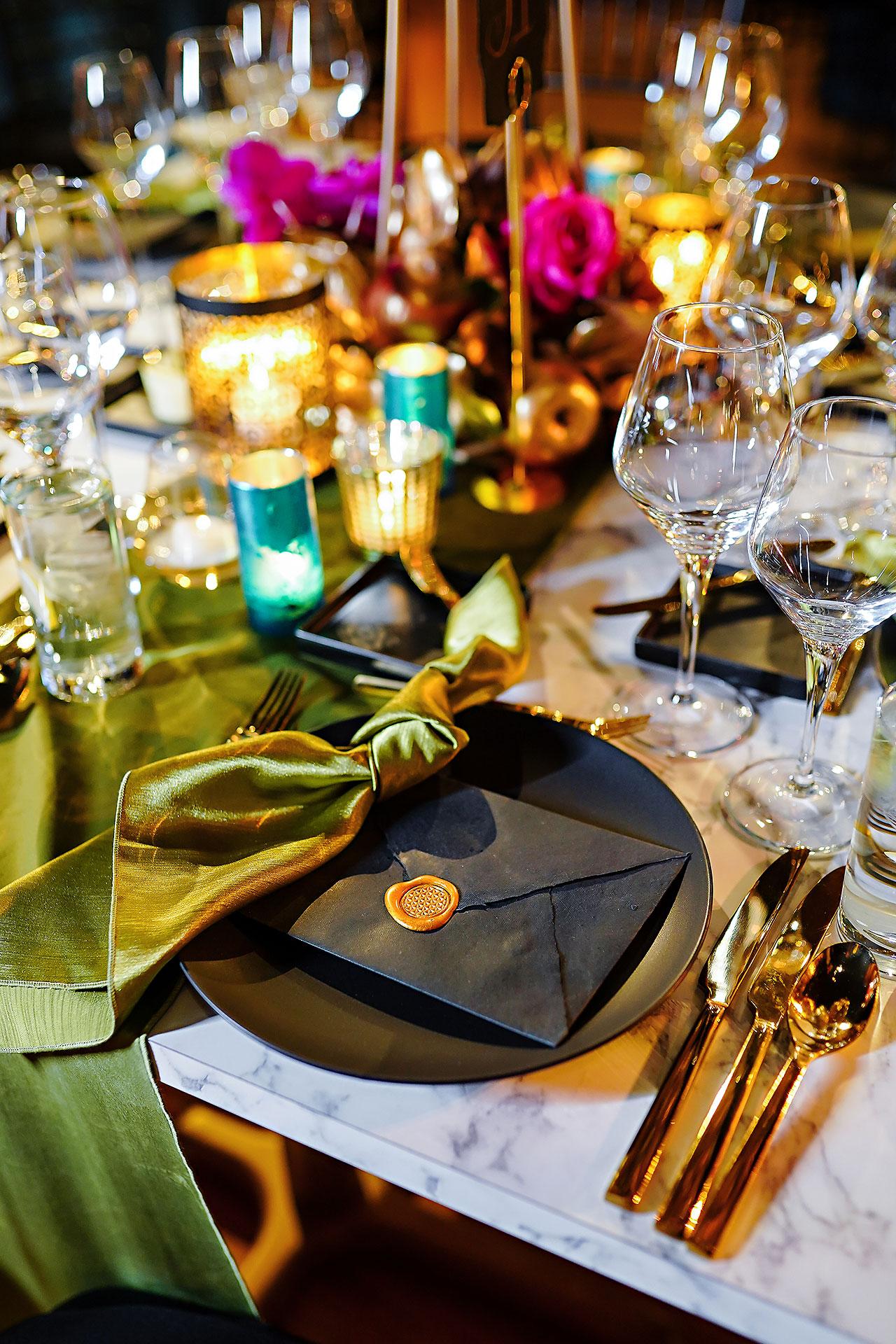 Lucia Matt Indiana Roof Ballroom Wedding Reception 045