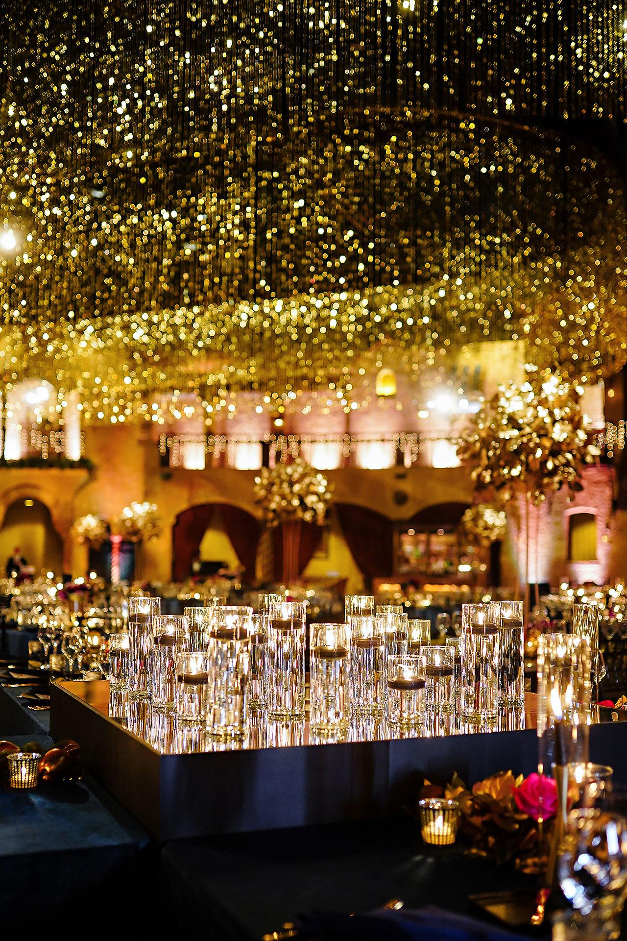 Lucia Matt Indiana Roof Ballroom Wedding Reception 042