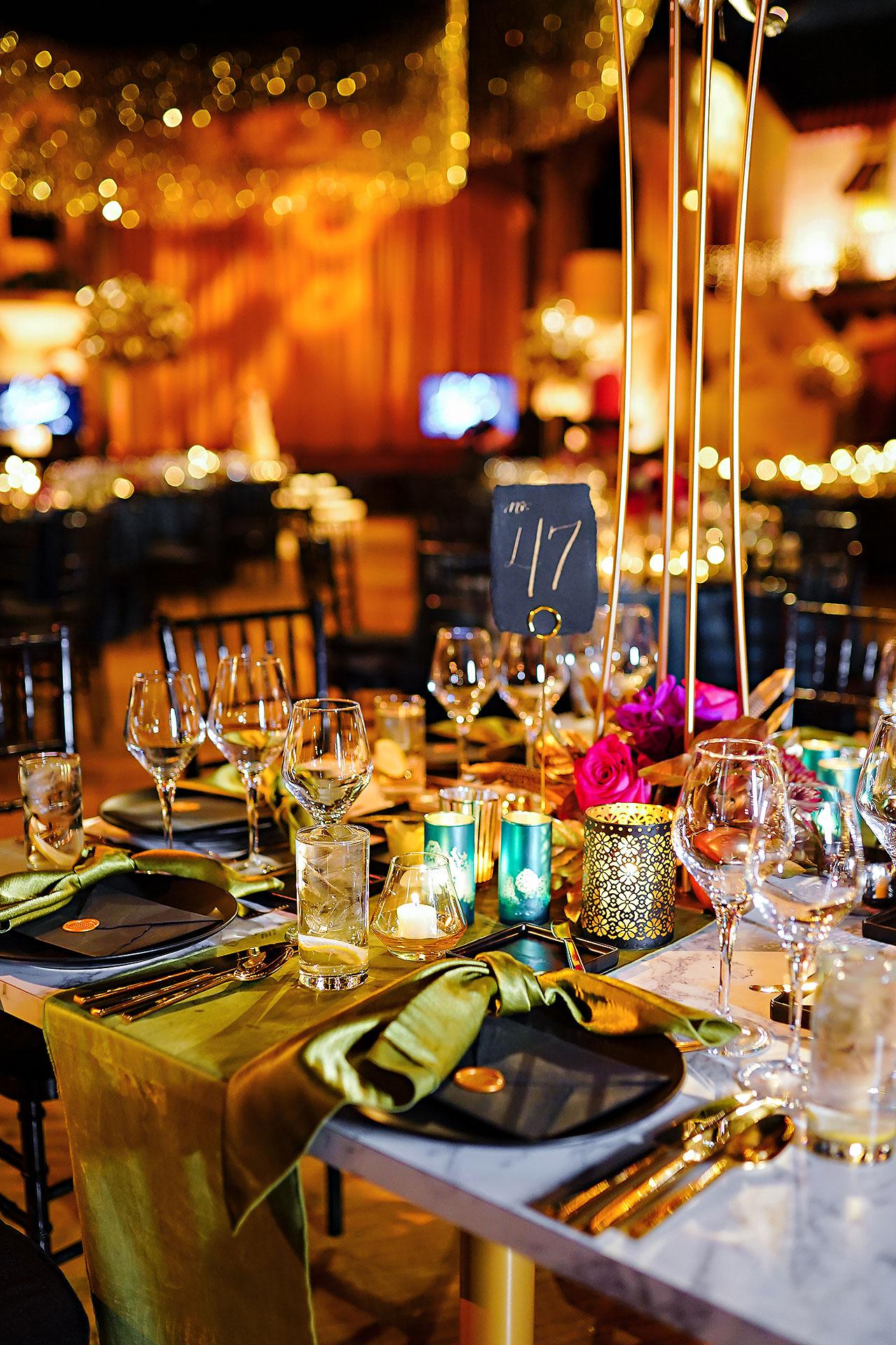 Lucia Matt Indiana Roof Ballroom Wedding Reception 041