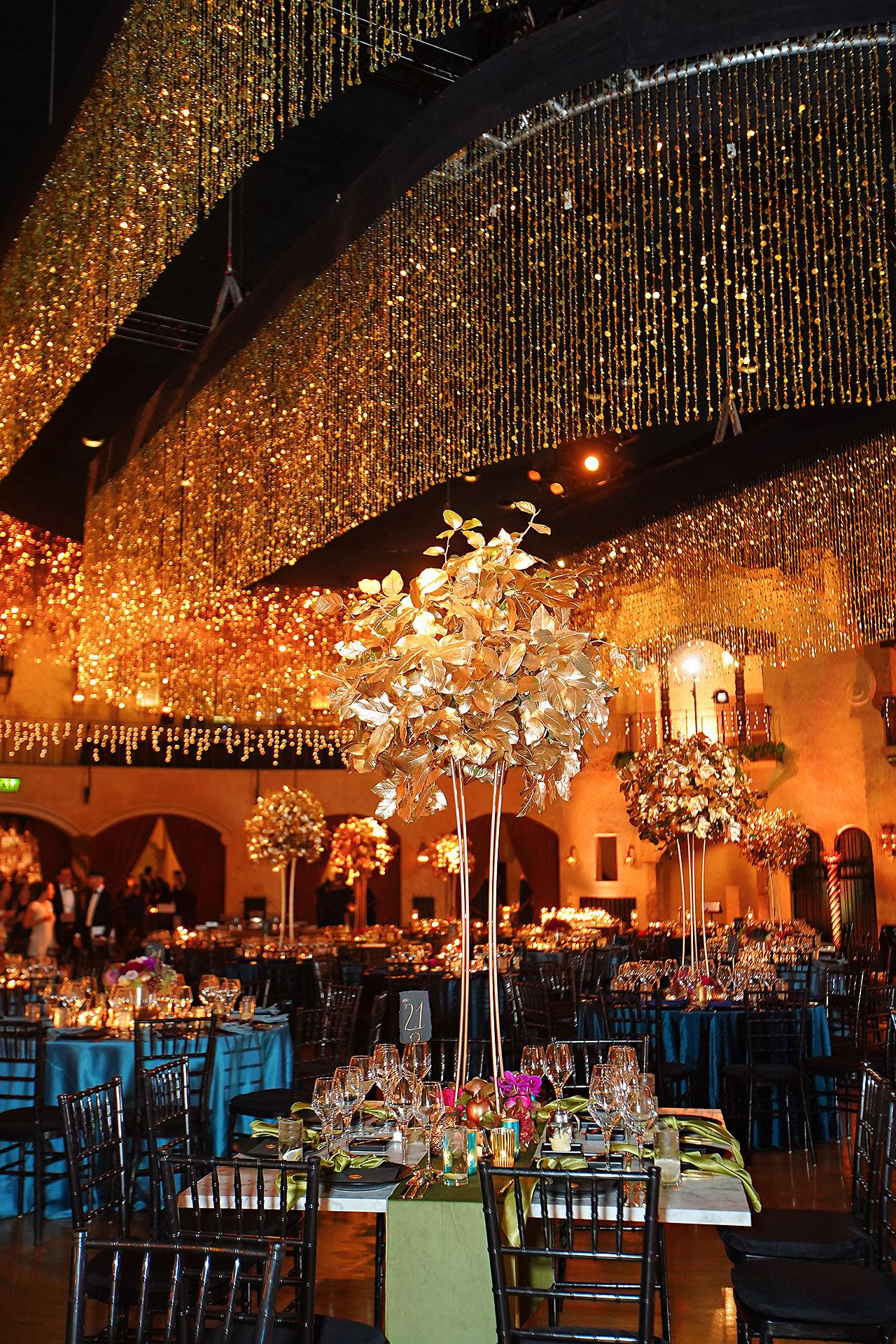 Lucia Matt Indiana Roof Ballroom Wedding Reception 040