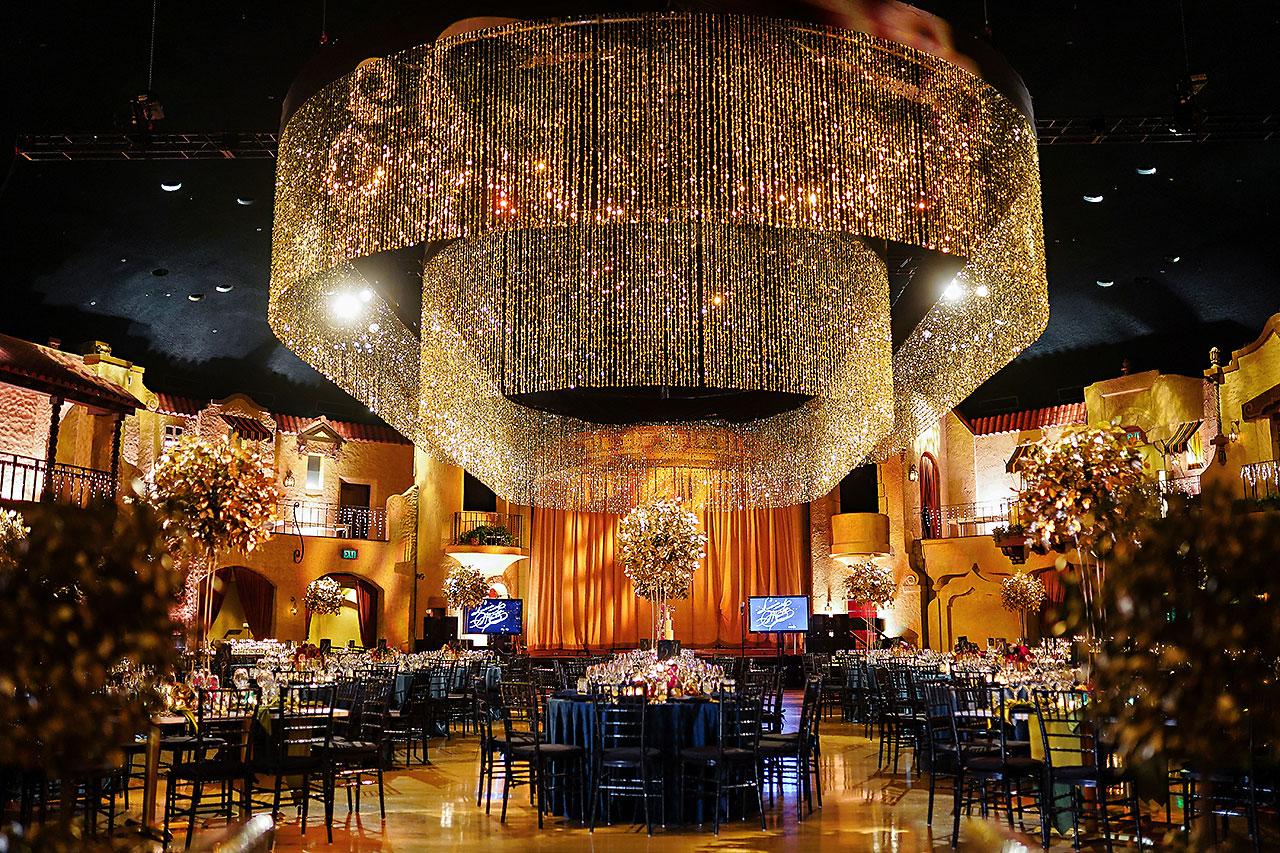 Lucia Matt Indiana Roof Ballroom Wedding Reception 029