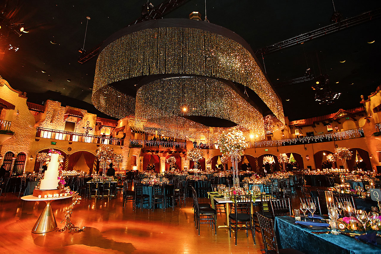 Lucia Matt Indiana Roof Ballroom Wedding Reception 030