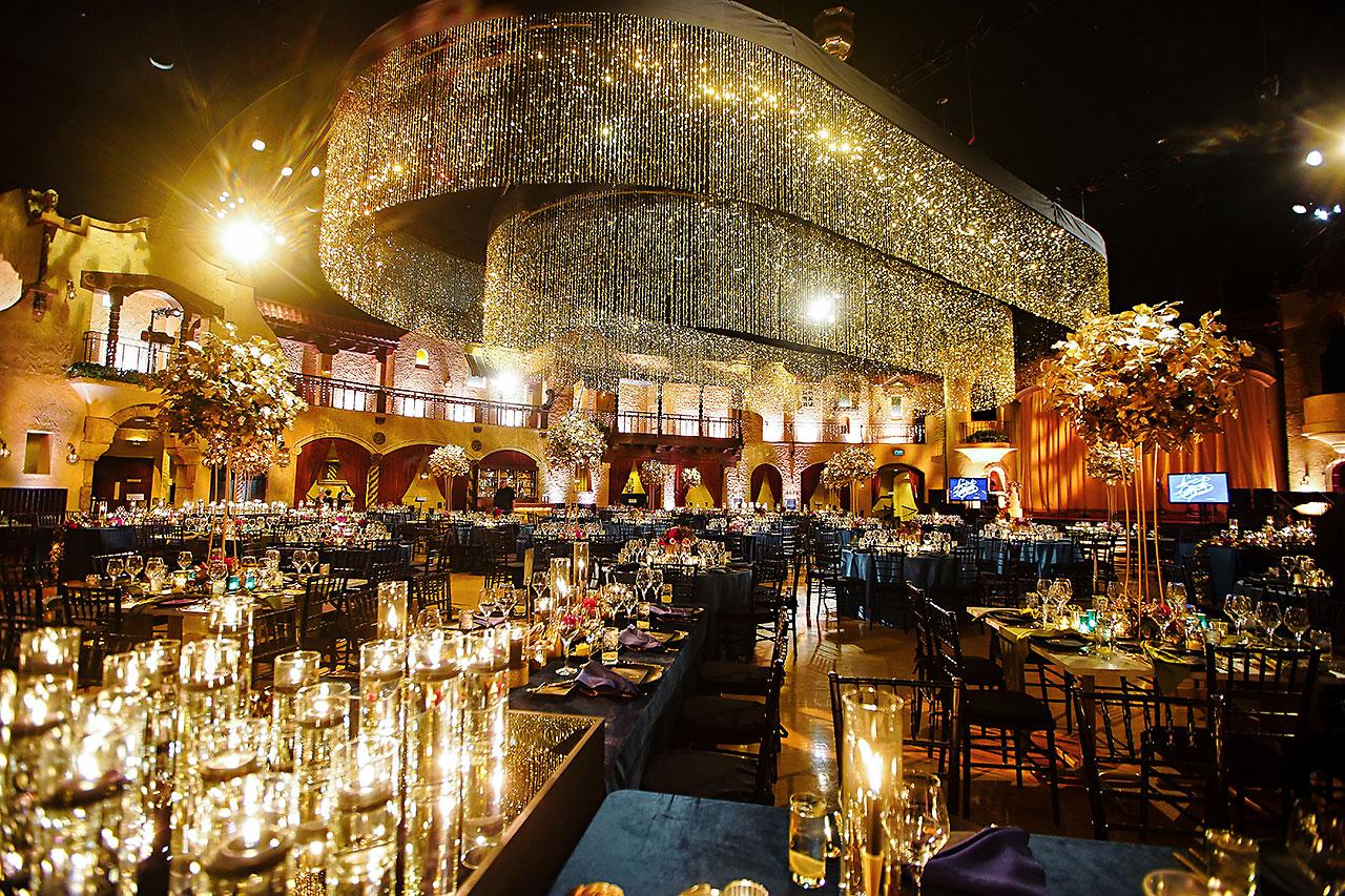 Lucia Matt Indiana Roof Ballroom Wedding Reception 027