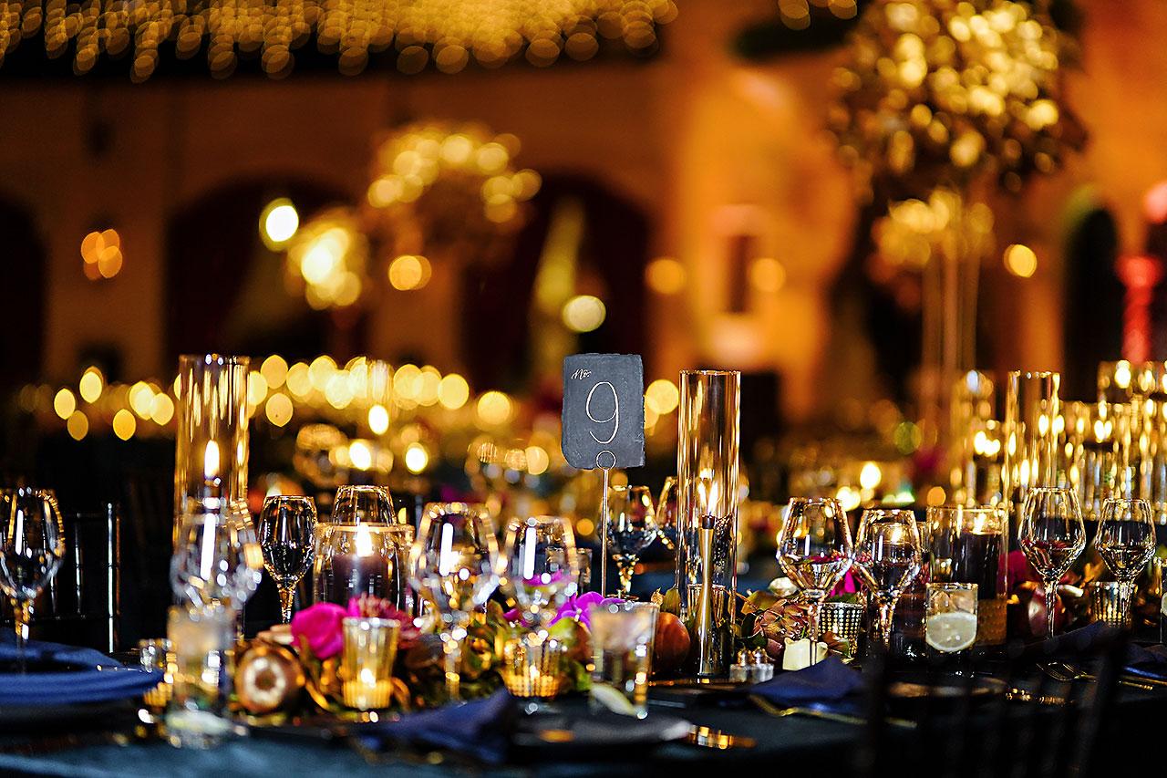 Lucia Matt Indiana Roof Ballroom Wedding Reception 028
