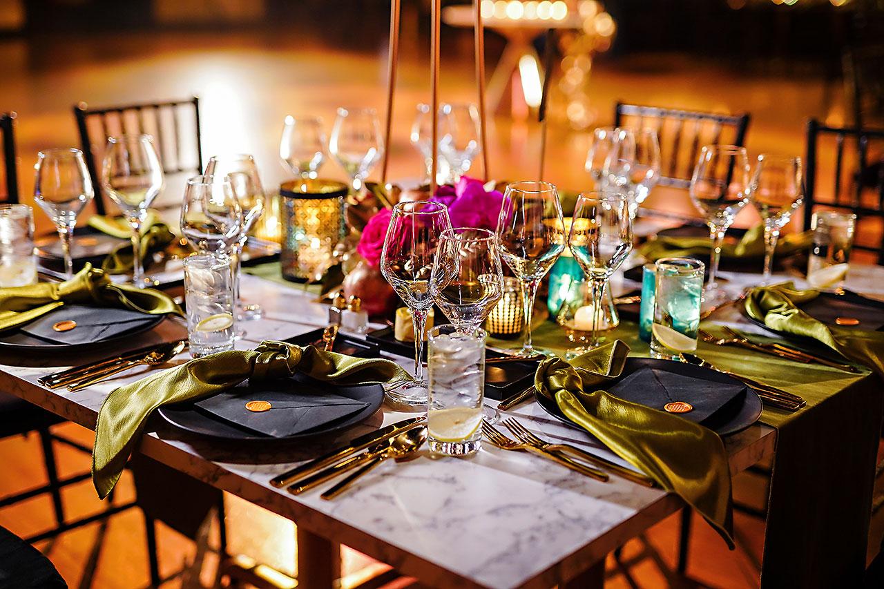 Lucia Matt Indiana Roof Ballroom Wedding Reception 025