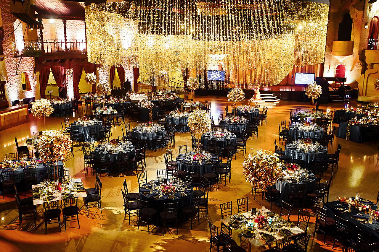 Lucia Matt Indiana Roof Ballroom Wedding Reception 023