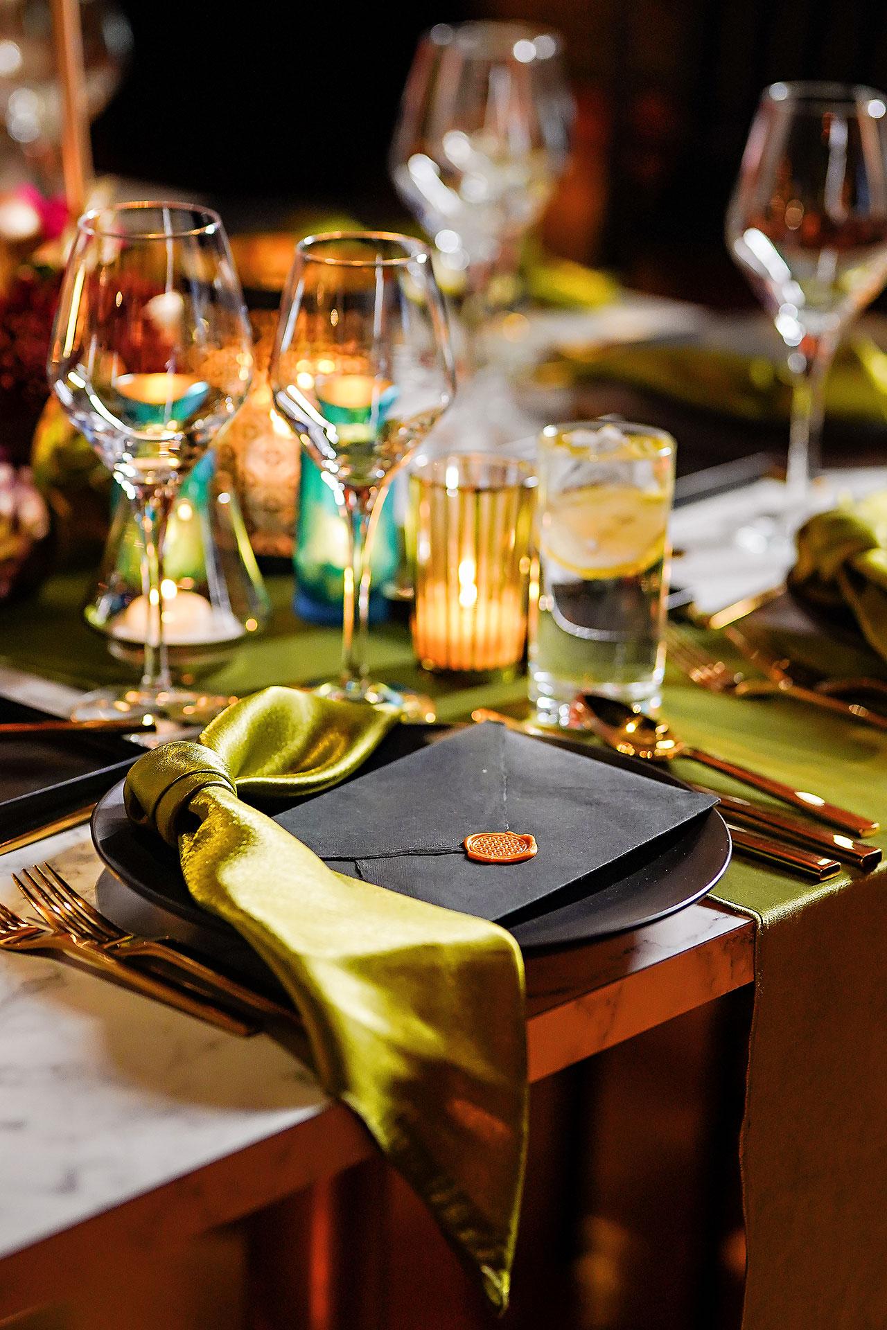Lucia Matt Indiana Roof Ballroom Wedding Reception 019