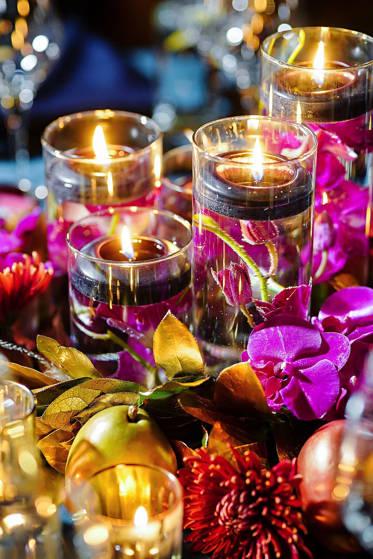 Lucia Matt Indiana Roof Ballroom Wedding Reception 014