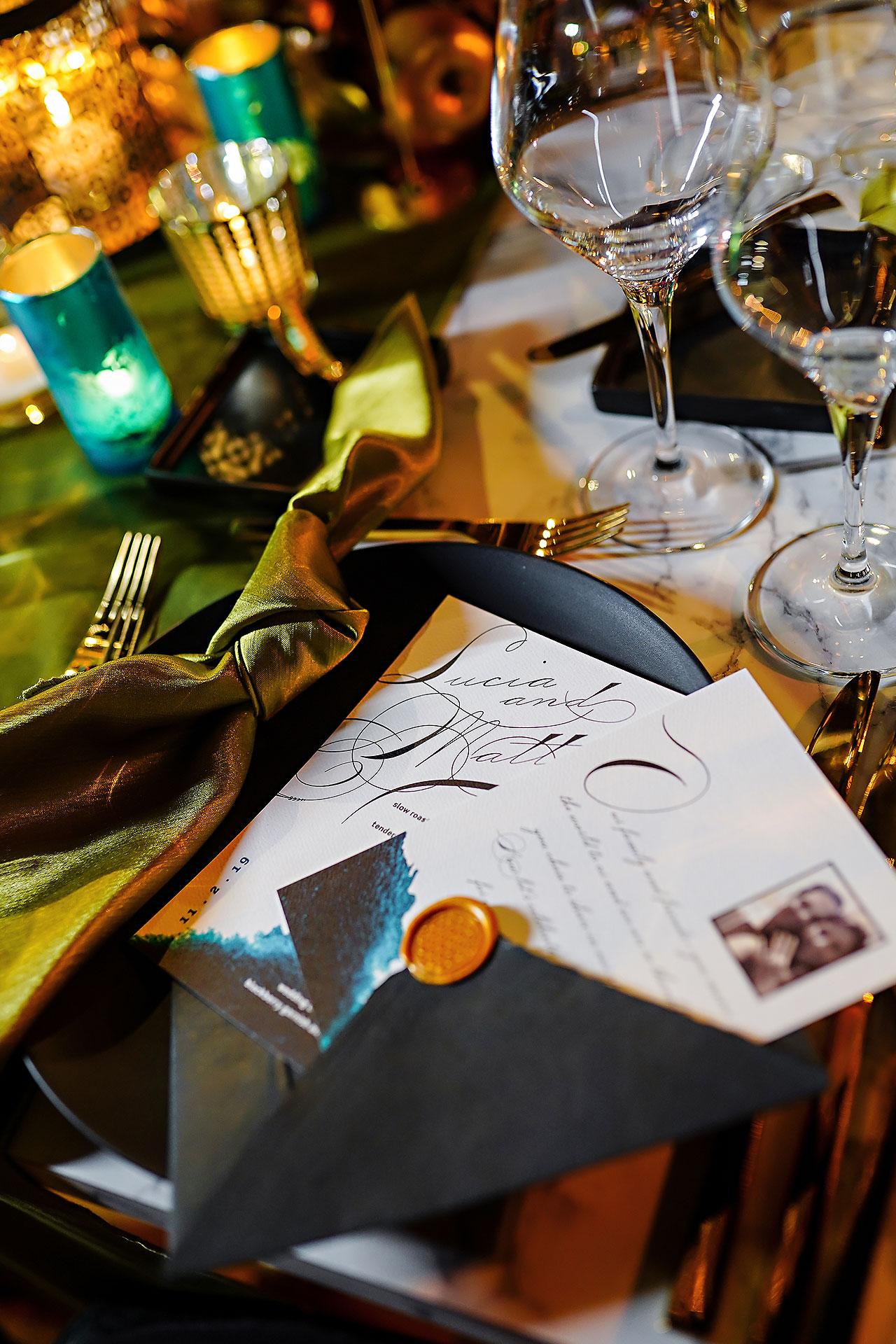 Lucia Matt Indiana Roof Ballroom Wedding Reception 010