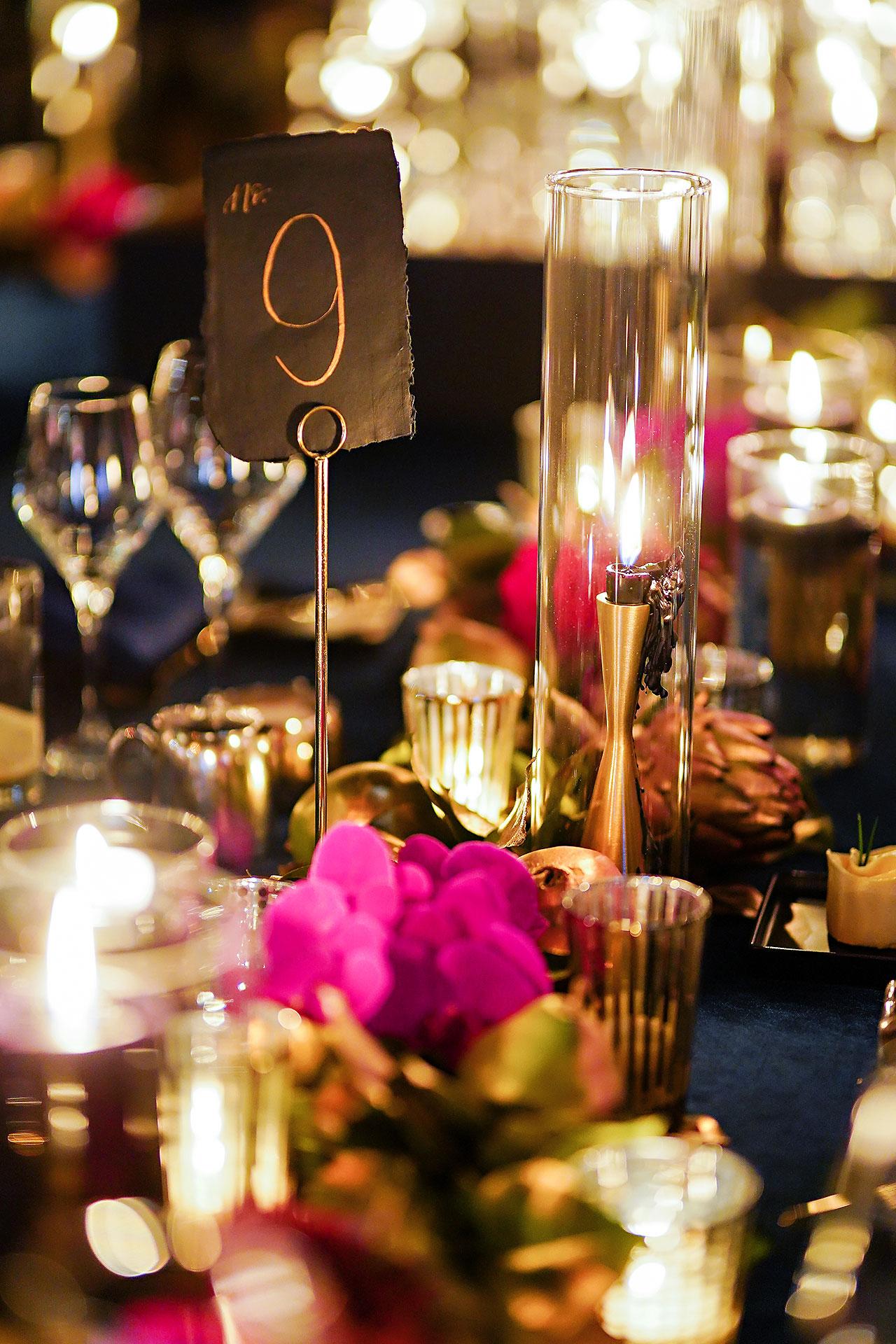 Lucia Matt Indiana Roof Ballroom Wedding Reception 012