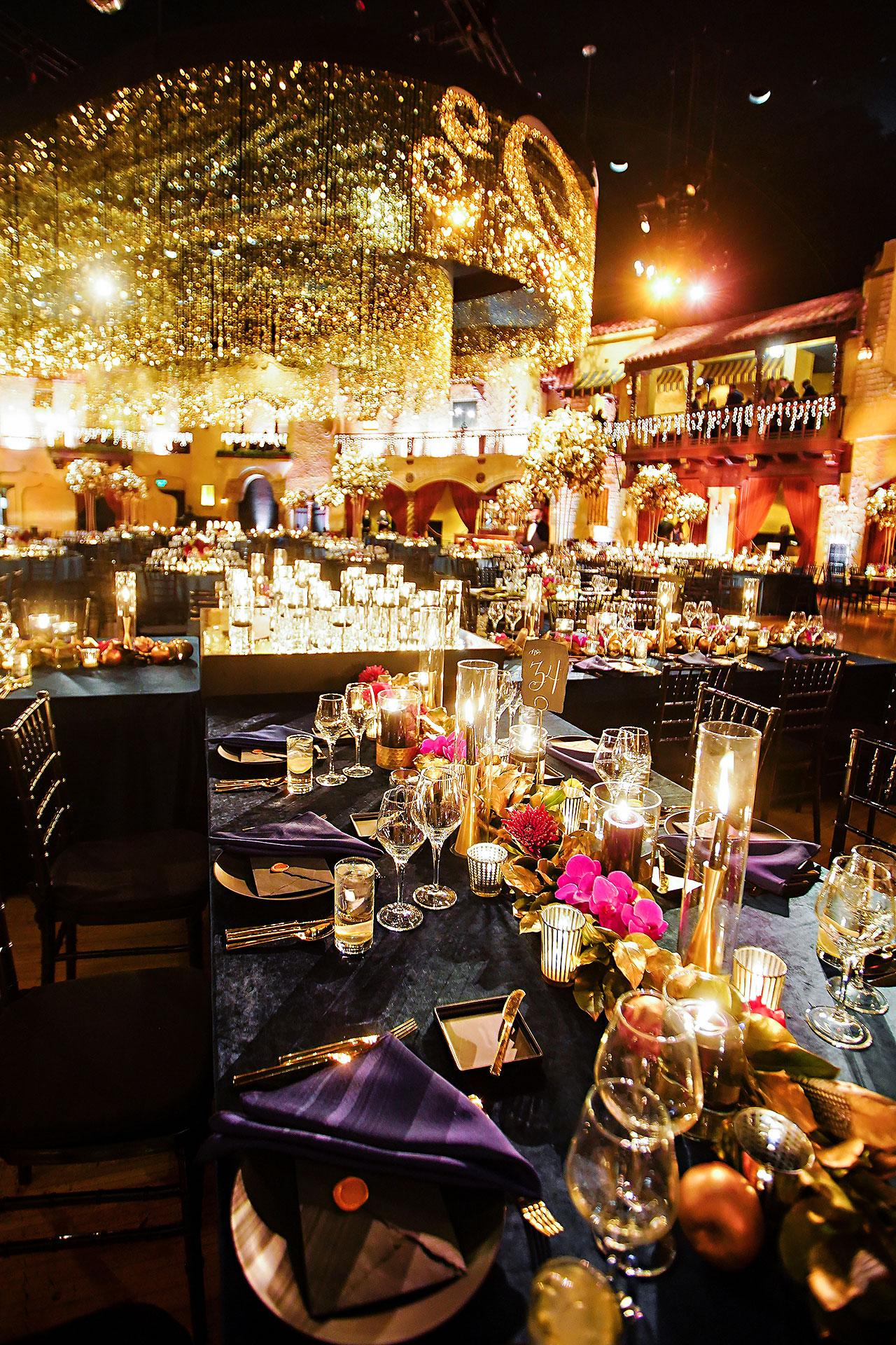 Lucia Matt Indiana Roof Ballroom Wedding Reception 009