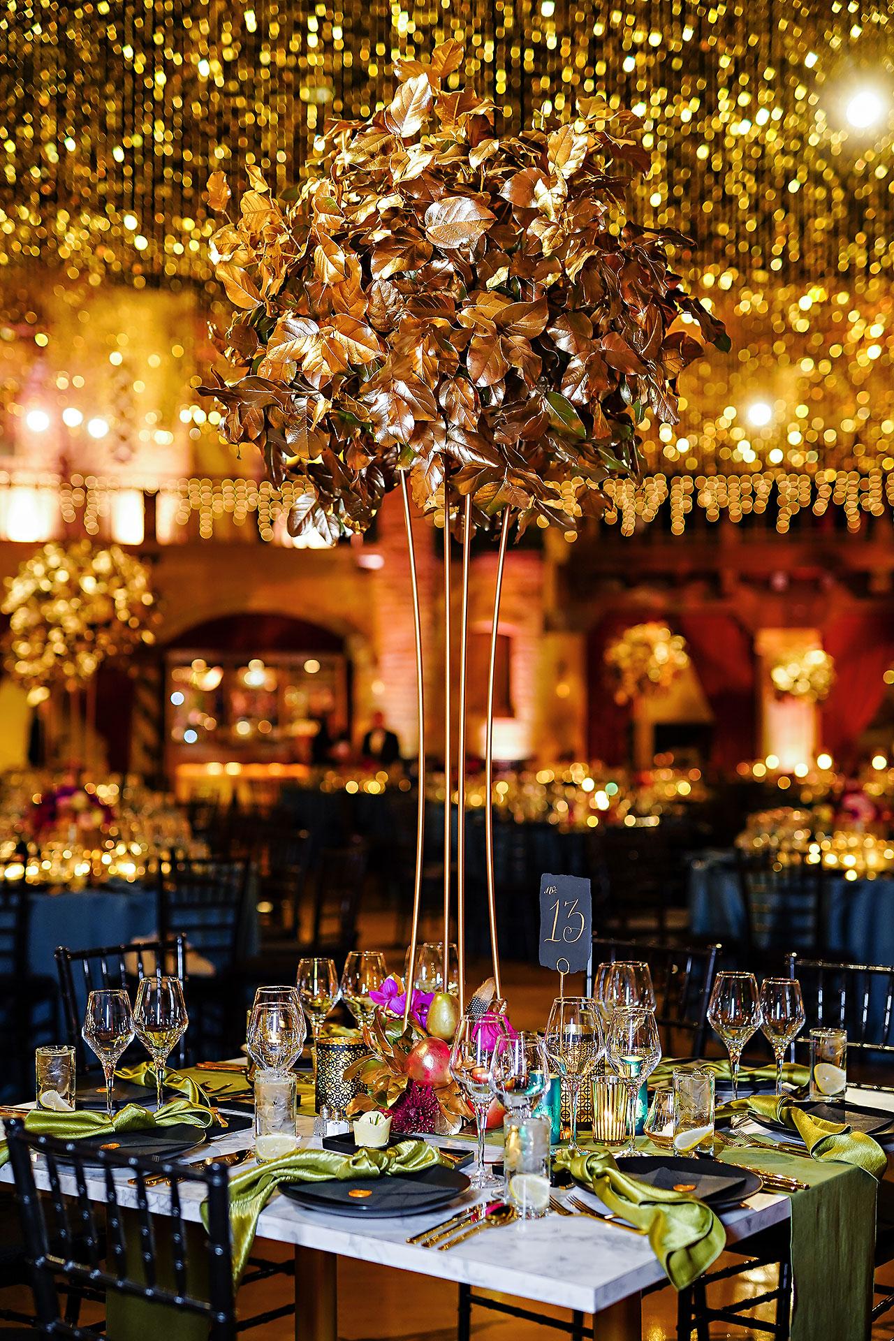 Lucia Matt Indiana Roof Ballroom Wedding Reception 005