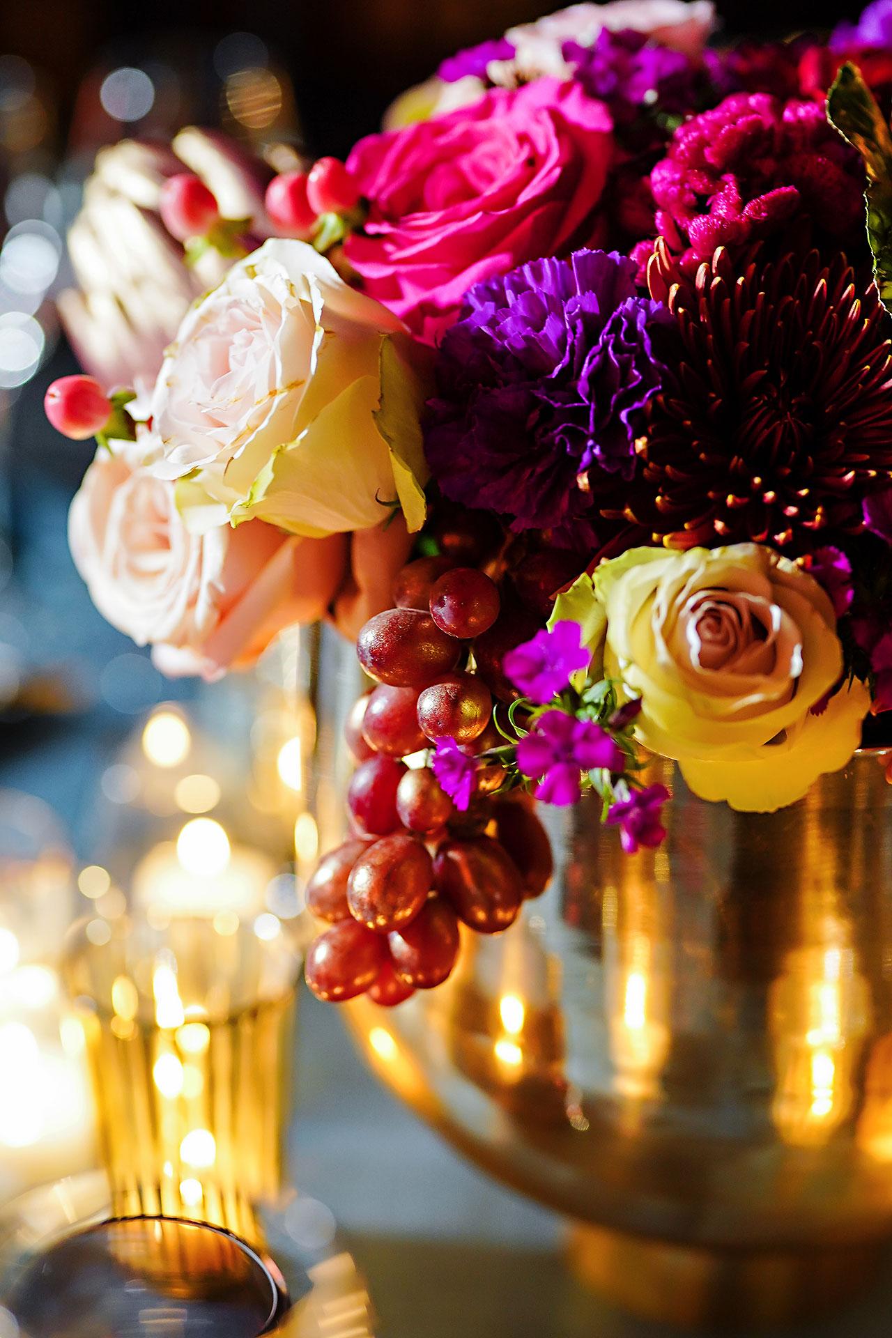 Lucia Matt Indiana Roof Ballroom Wedding Reception 006