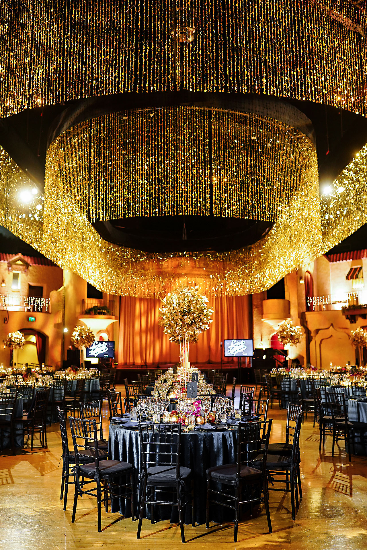 Lucia Matt Indiana Roof Ballroom Wedding Reception 003