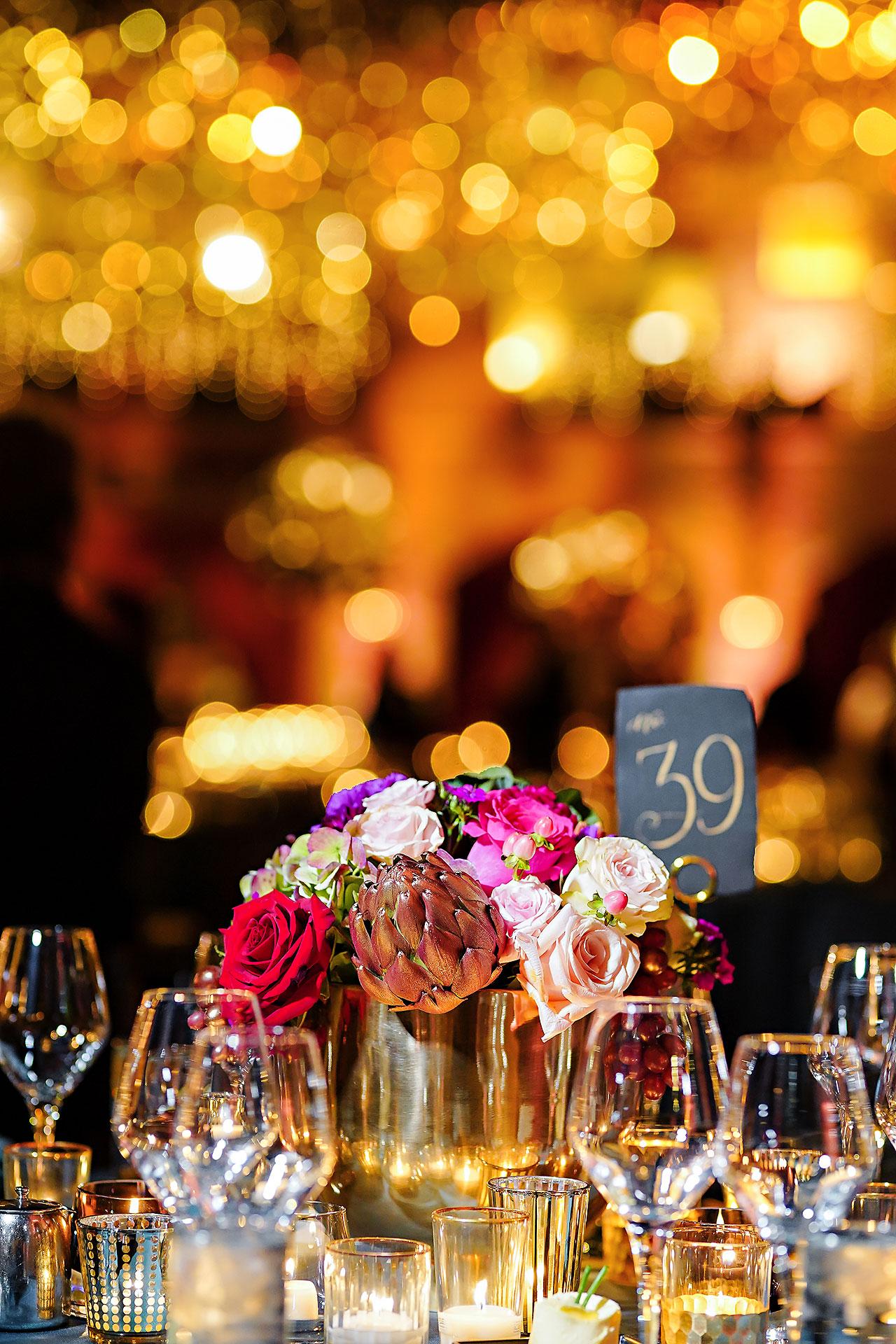 Lucia Matt Indiana Roof Ballroom Wedding Reception 004