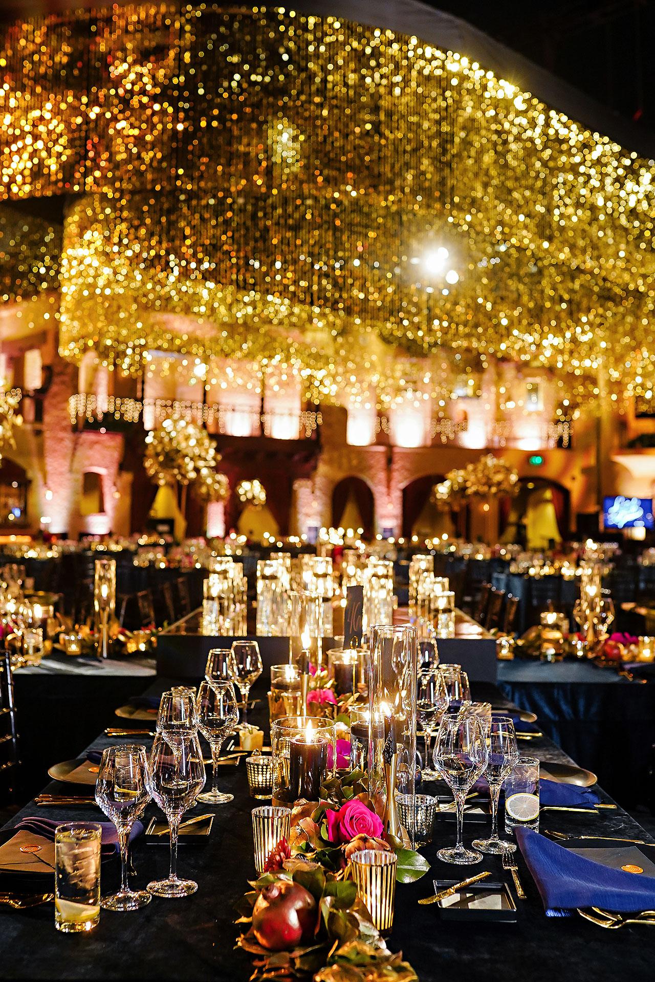 Lucia Matt Indiana Roof Ballroom Wedding Reception 001