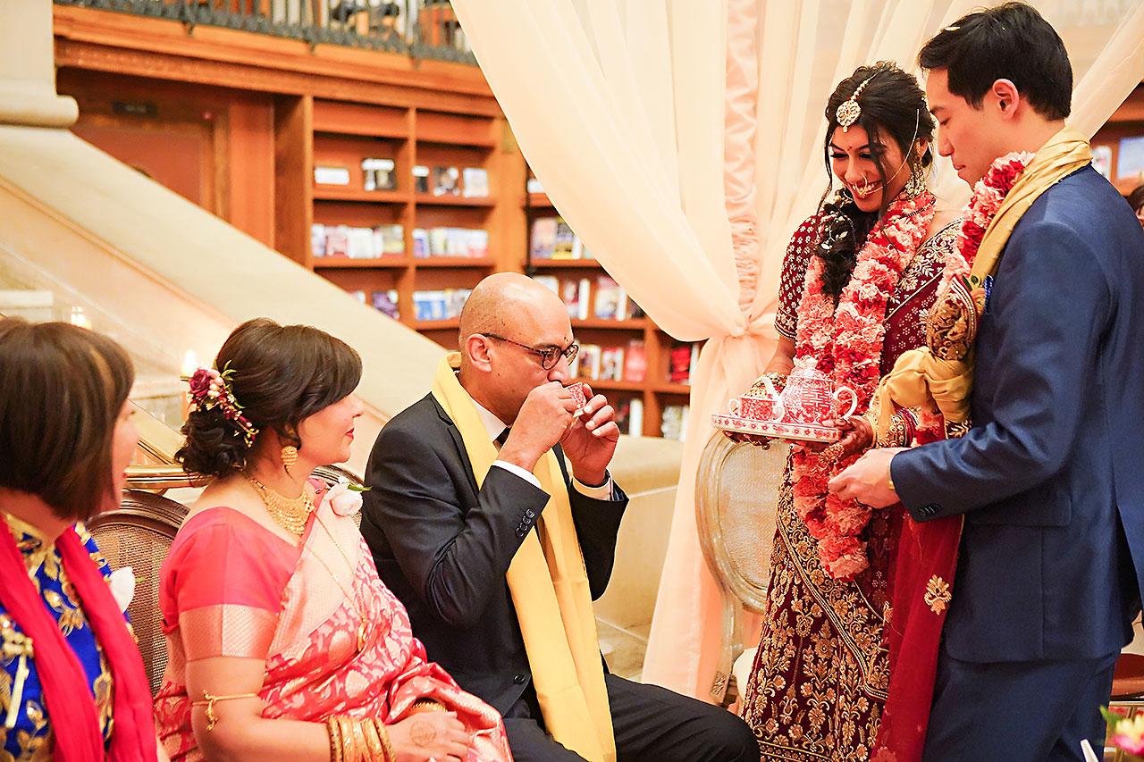 Ritika Jason Chinese Indian Fusion Wedding Ceremony 273