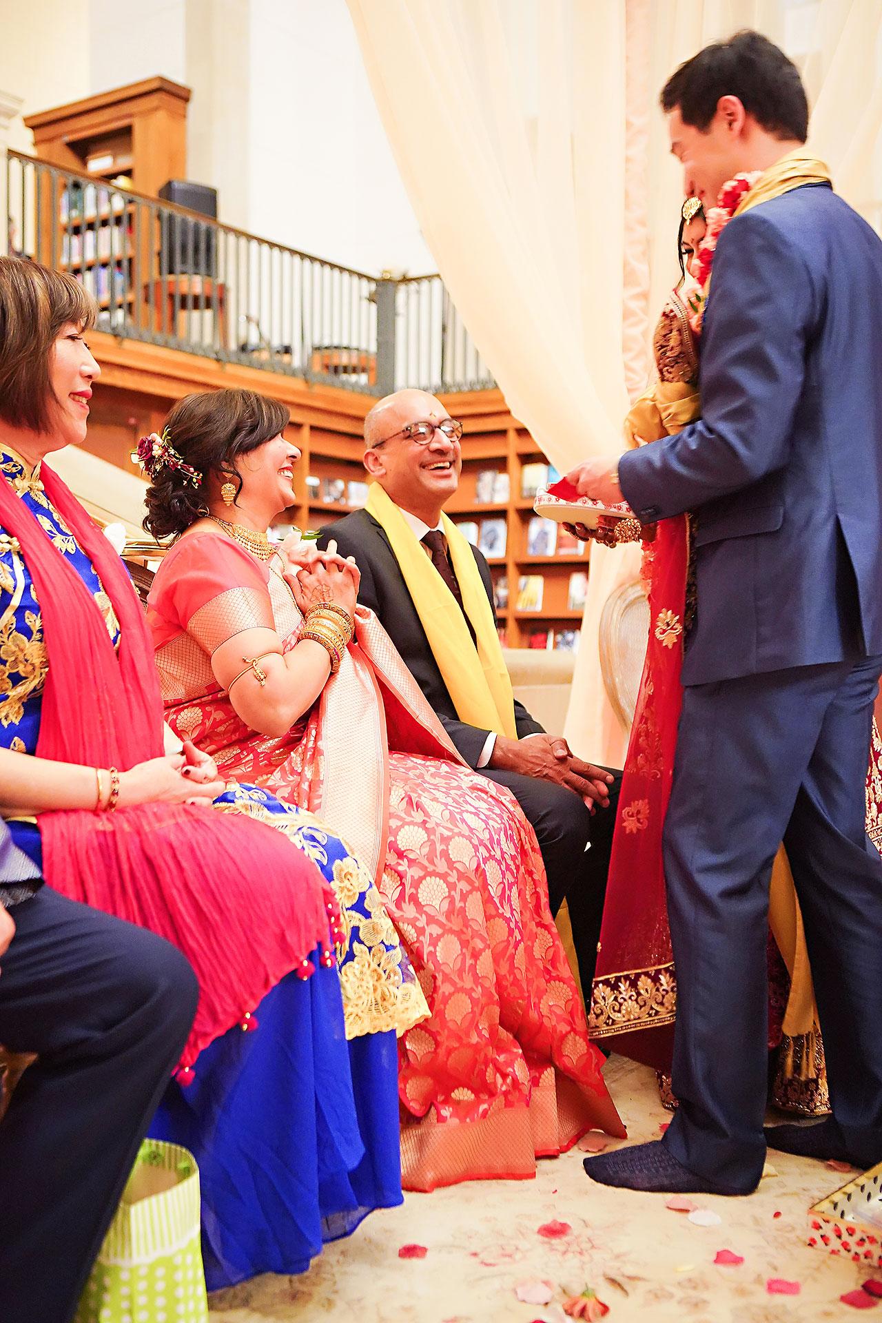 Ritika Jason Chinese Indian Fusion Wedding Ceremony 272