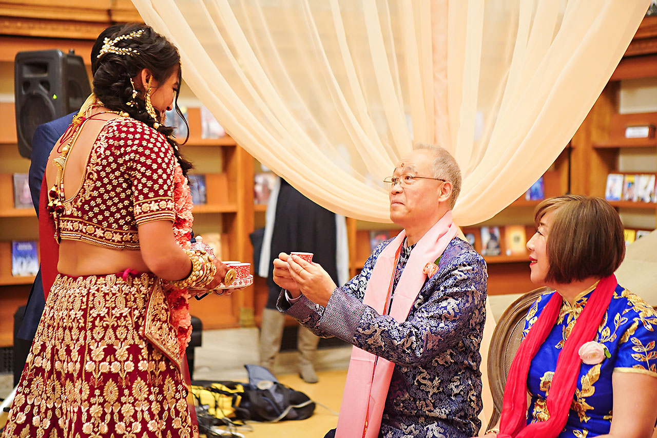 Ritika Jason Chinese Indian Fusion Wedding Ceremony 267
