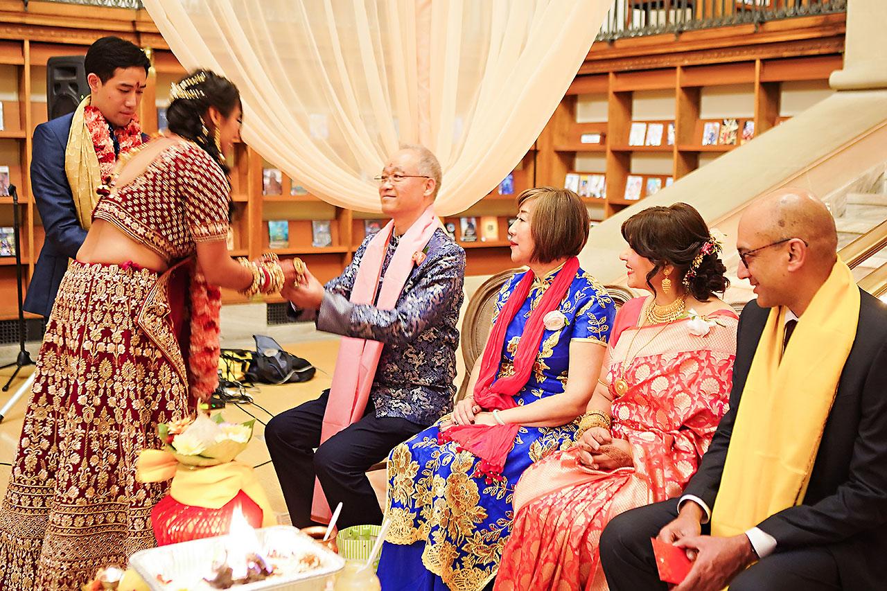 Ritika Jason Chinese Indian Fusion Wedding Ceremony 266