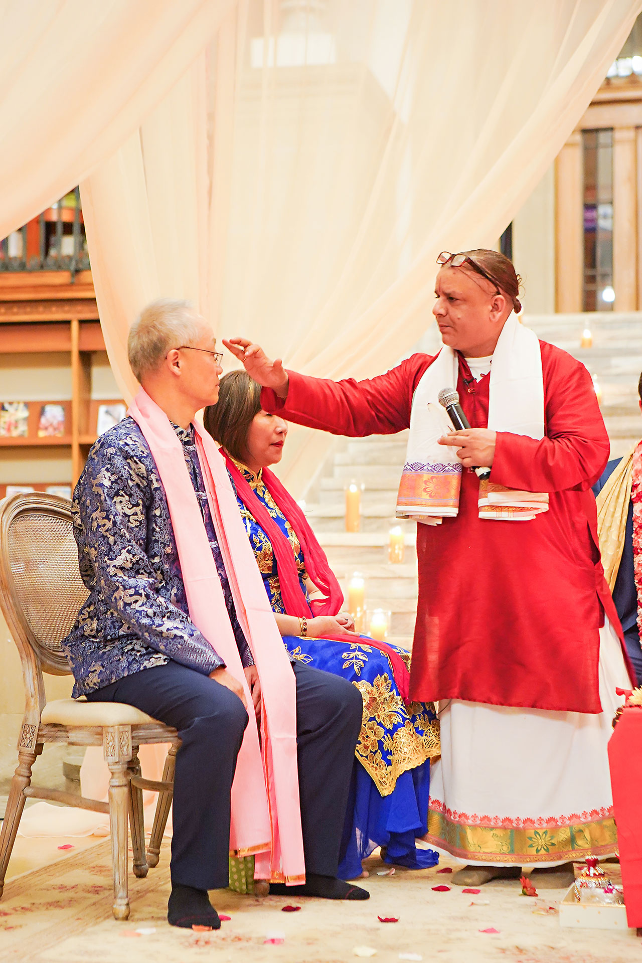 Ritika Jason Chinese Indian Fusion Wedding Ceremony 261