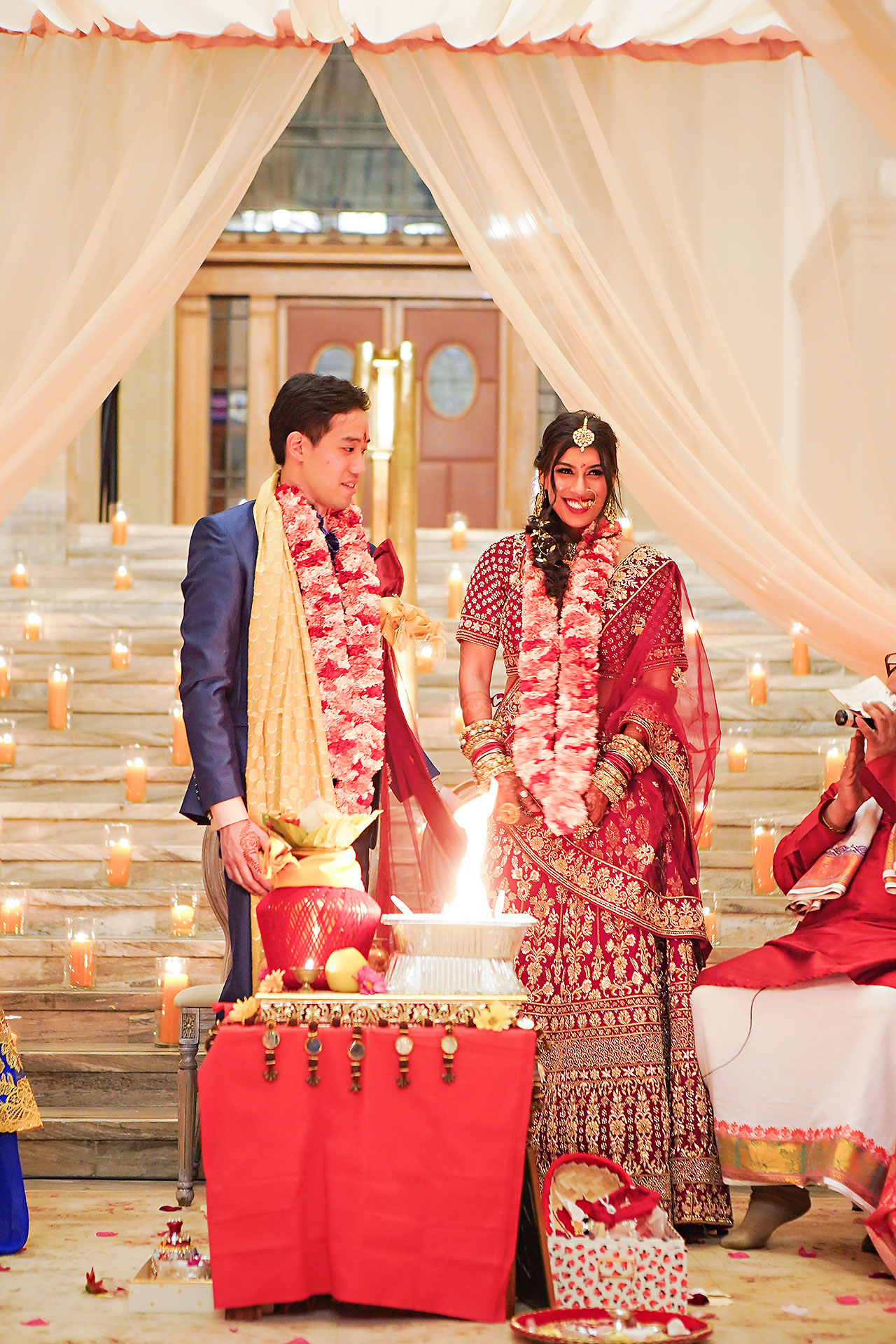 Ritika Jason Chinese Indian Fusion Wedding Ceremony 260