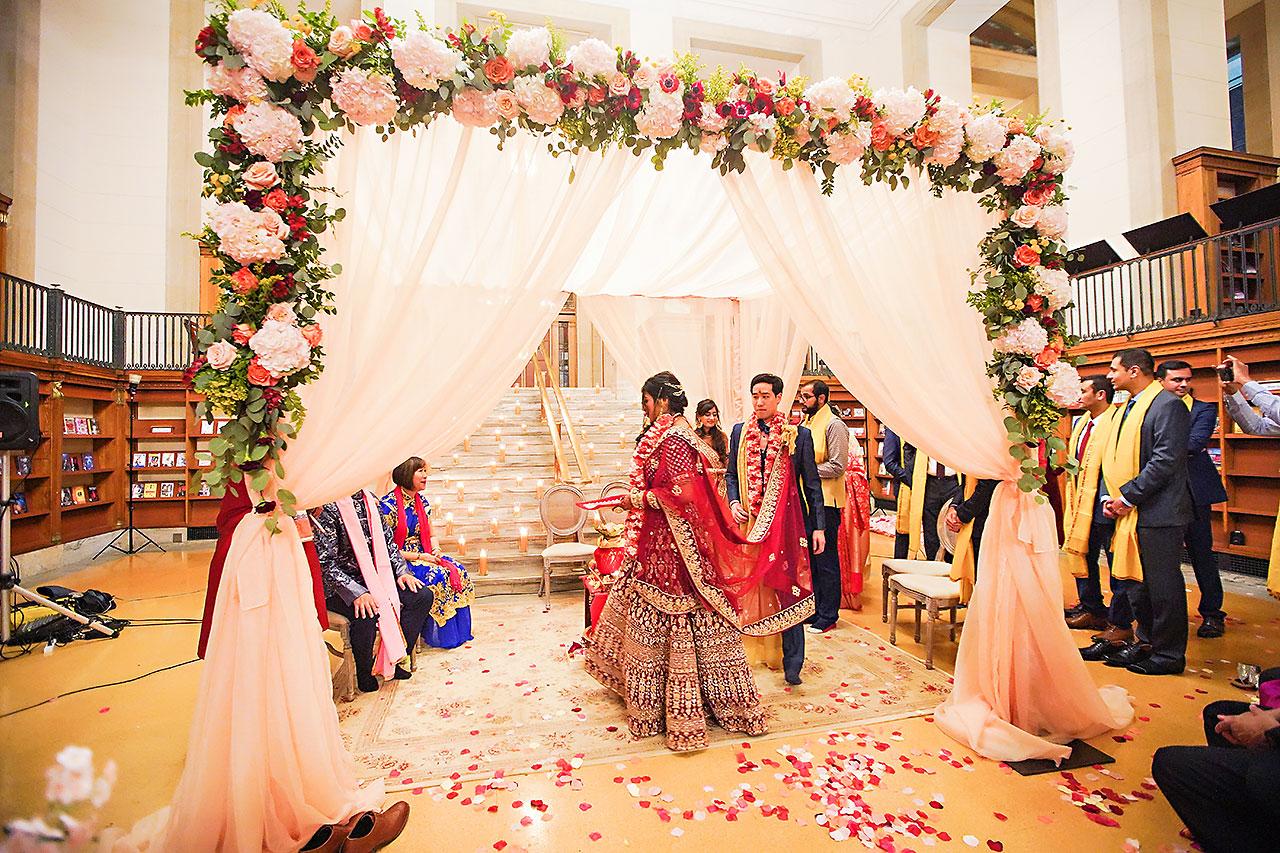 Ritika Jason Chinese Indian Fusion Wedding Ceremony 254