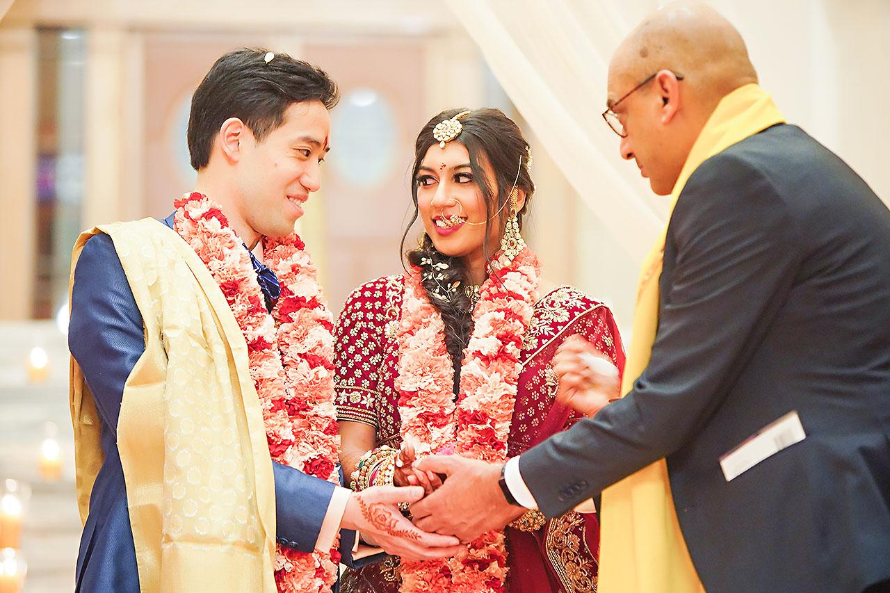 Ritika Jason Chinese Indian Fusion Wedding Ceremony 251