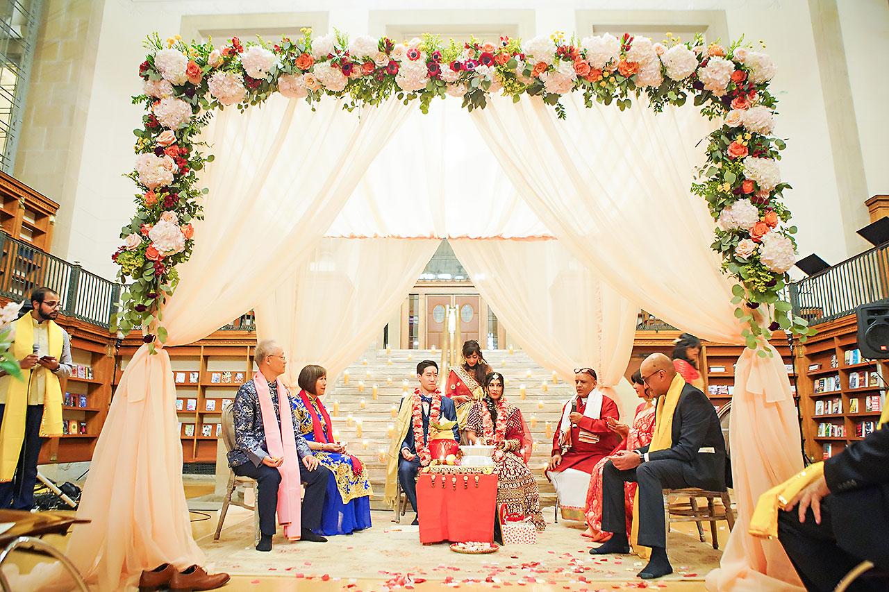 Ritika Jason Chinese Indian Fusion Wedding Ceremony 246