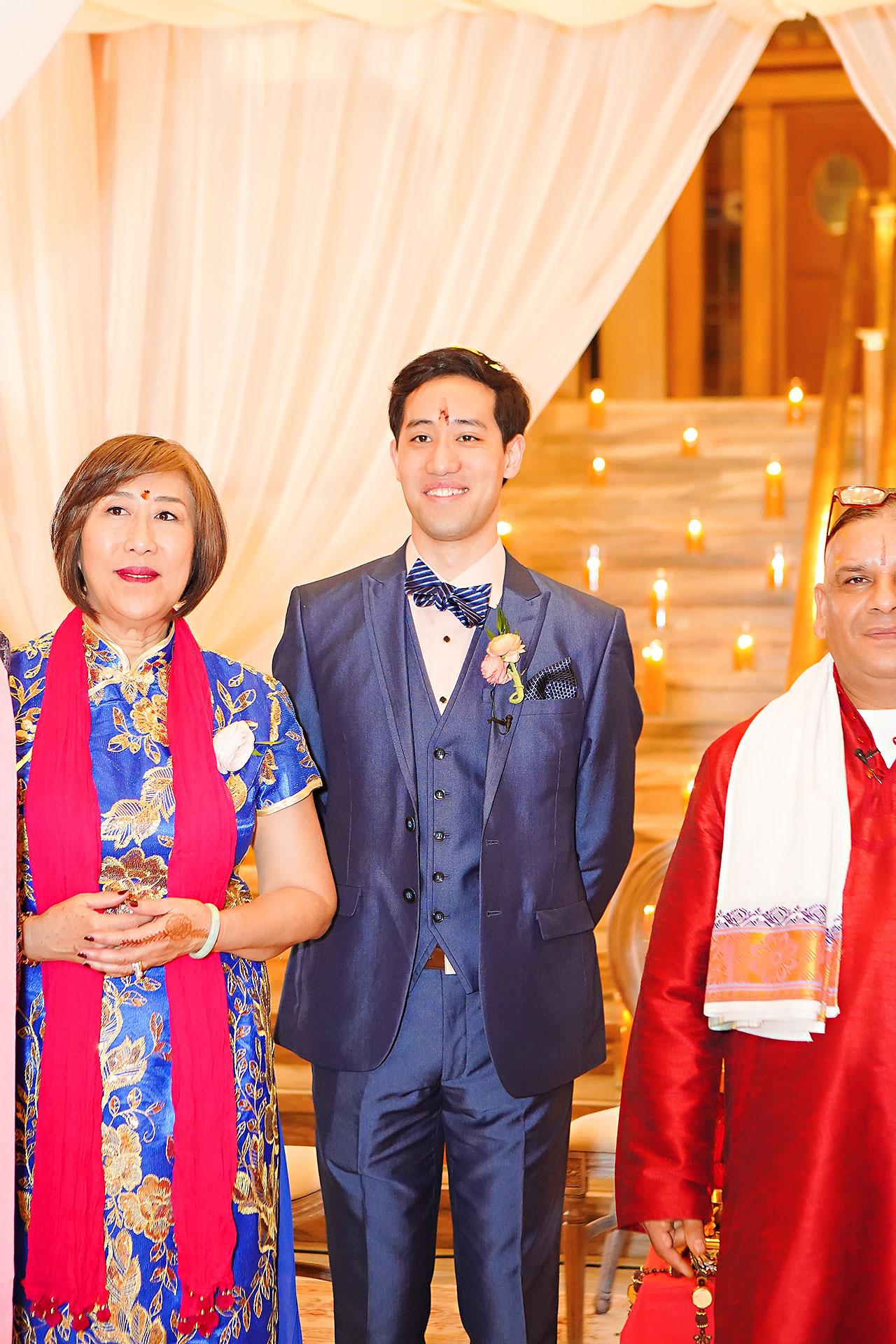 Ritika Jason Chinese Indian Fusion Wedding Ceremony 234