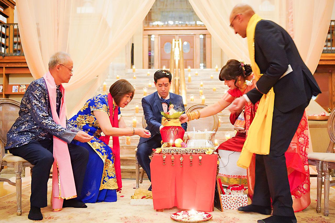 Ritika Jason Chinese Indian Fusion Wedding Ceremony 224