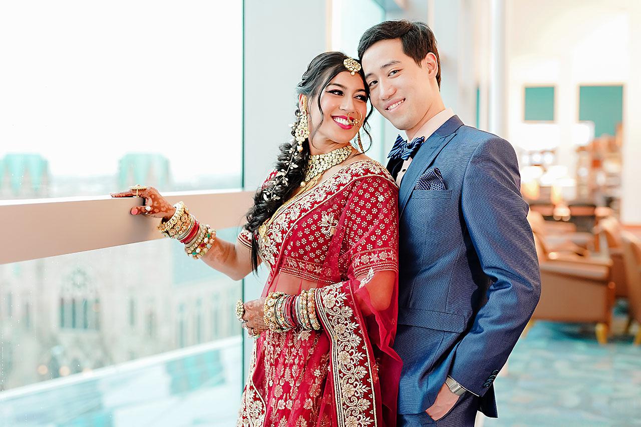 Ritika Jason Chinese Indian Fusion Wedding Ceremony 109