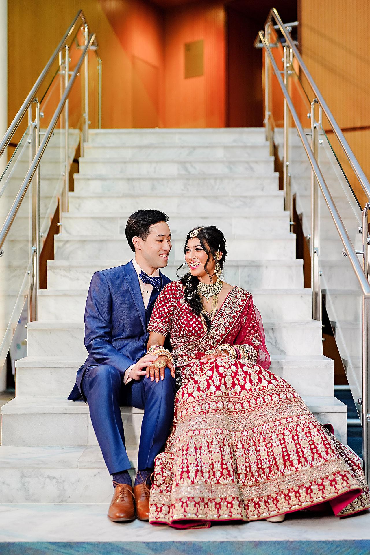 Ritika Jason Chinese Indian Fusion Wedding Ceremony 083
