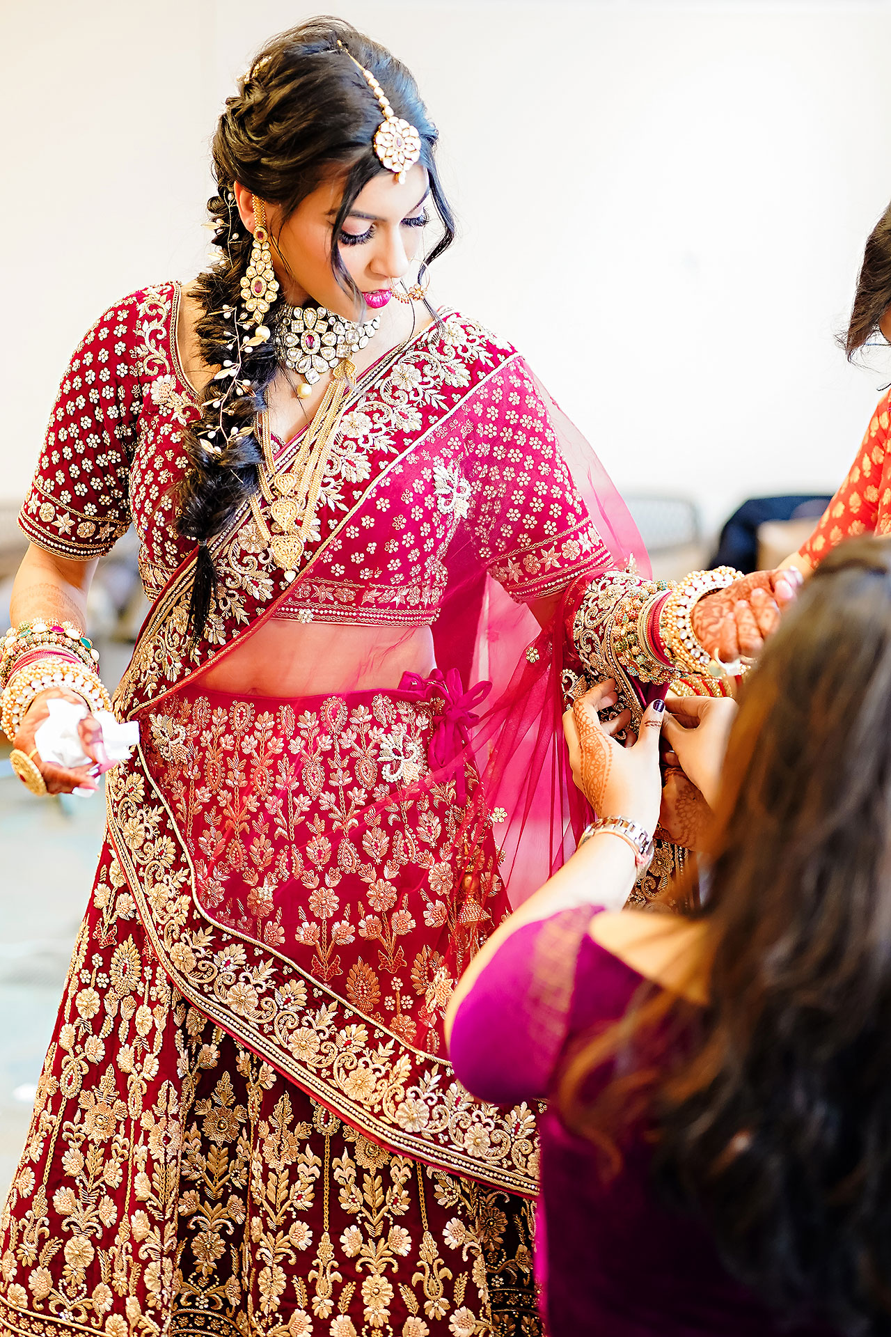 Ritika Jason Chinese Indian Fusion Wedding Ceremony 058