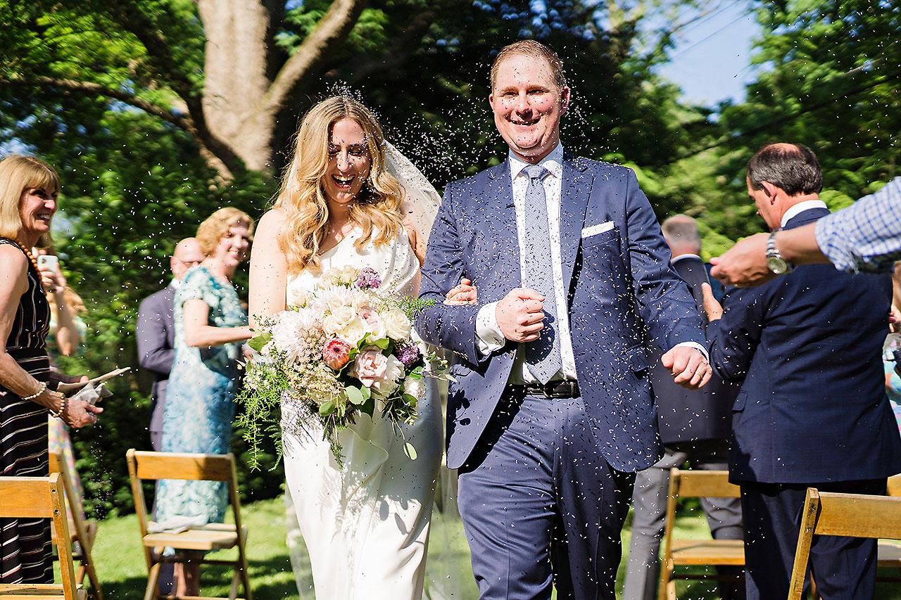 KATIE + JAMES | INDIANAPOLIS BACKYARD WEDDING