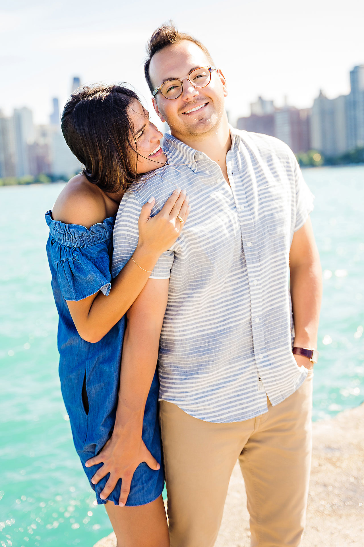 Kaitlin Collin Chicago Engagement Session 142