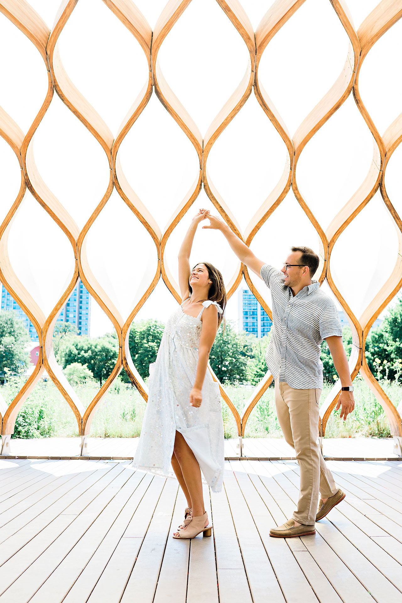 Kaitlin Collin Chicago Engagement Session 089