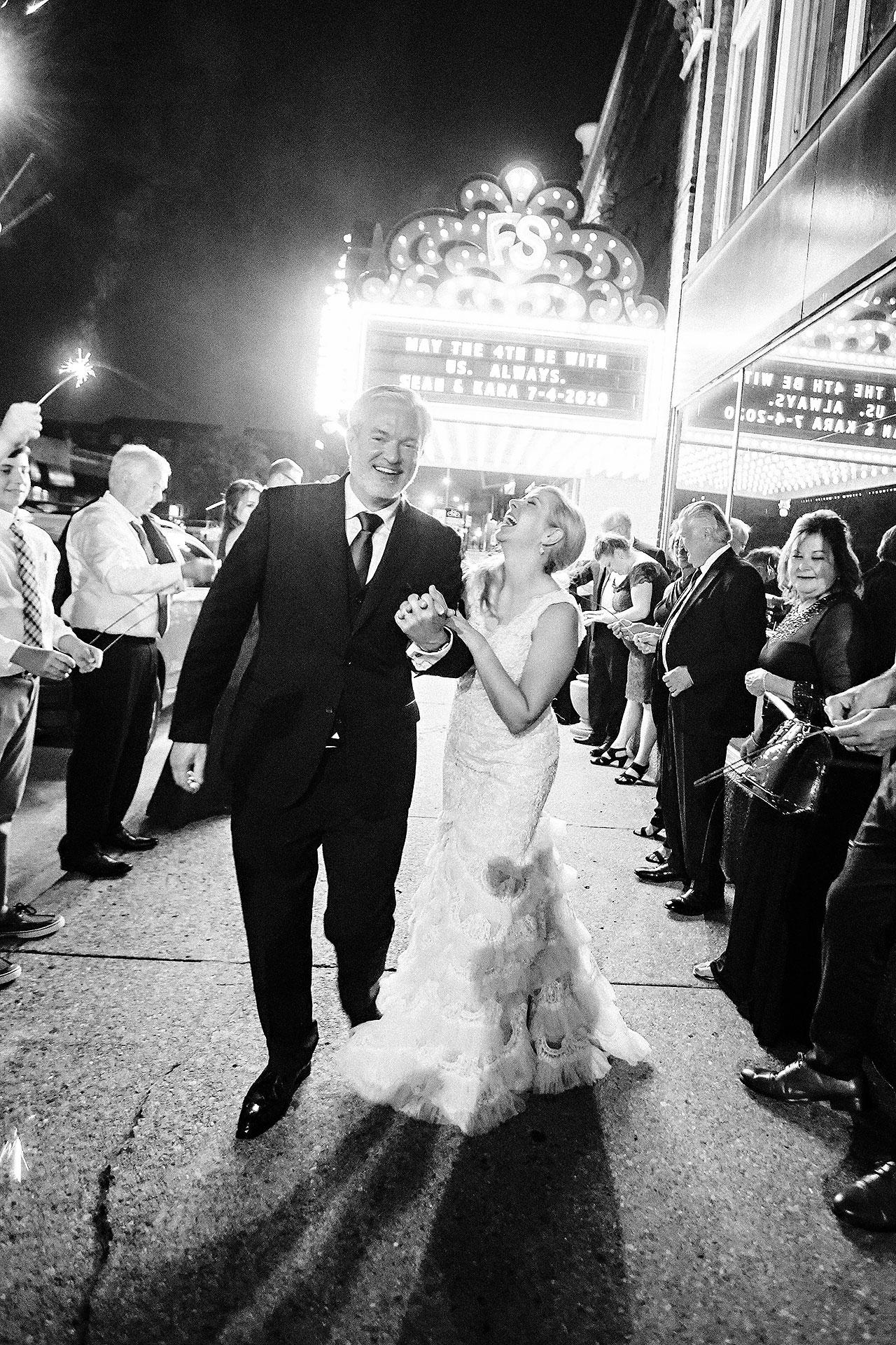 Kara Sean Fountain Square Theater Indianapolis Wedding 337