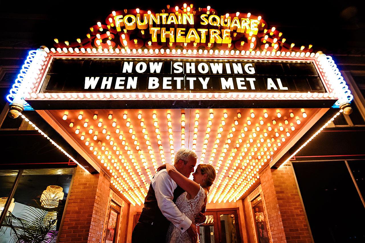 Kara Sean Fountain Square Theater Indianapolis Wedding 335