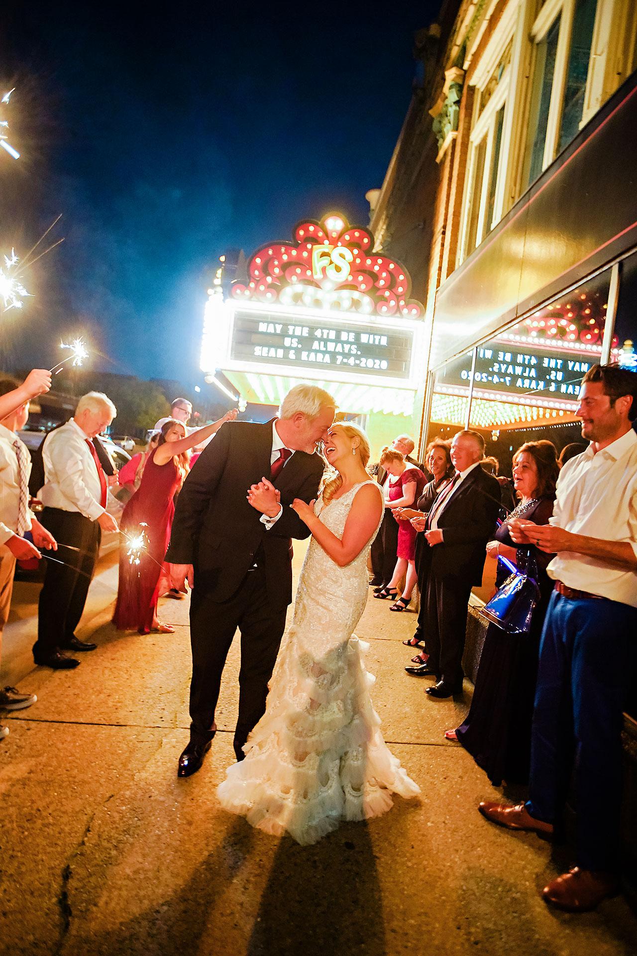 Kara Sean Fountain Square Theater Indianapolis Wedding 336