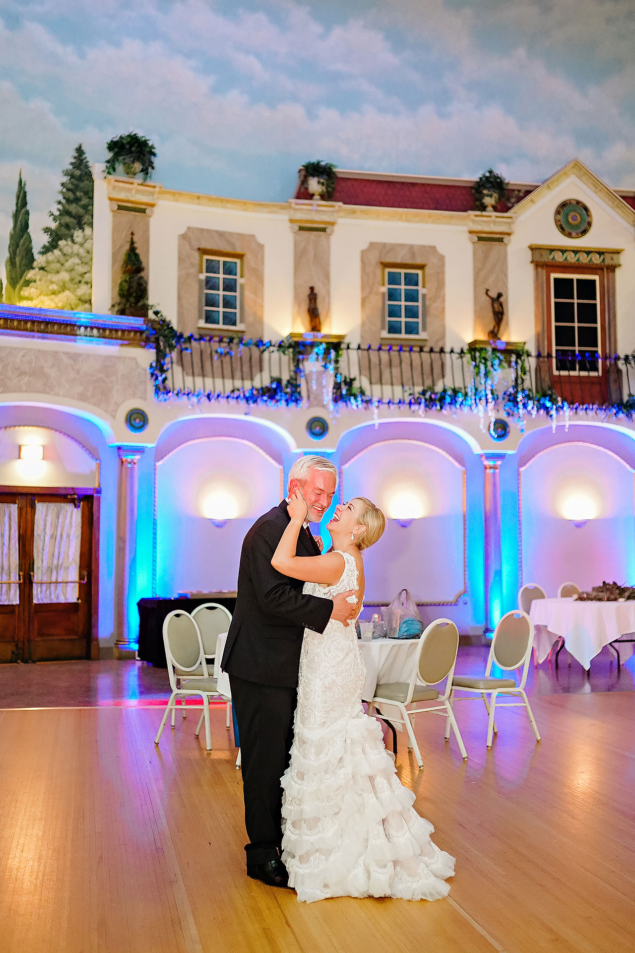 Kara Sean Fountain Square Theater Indianapolis Wedding 331